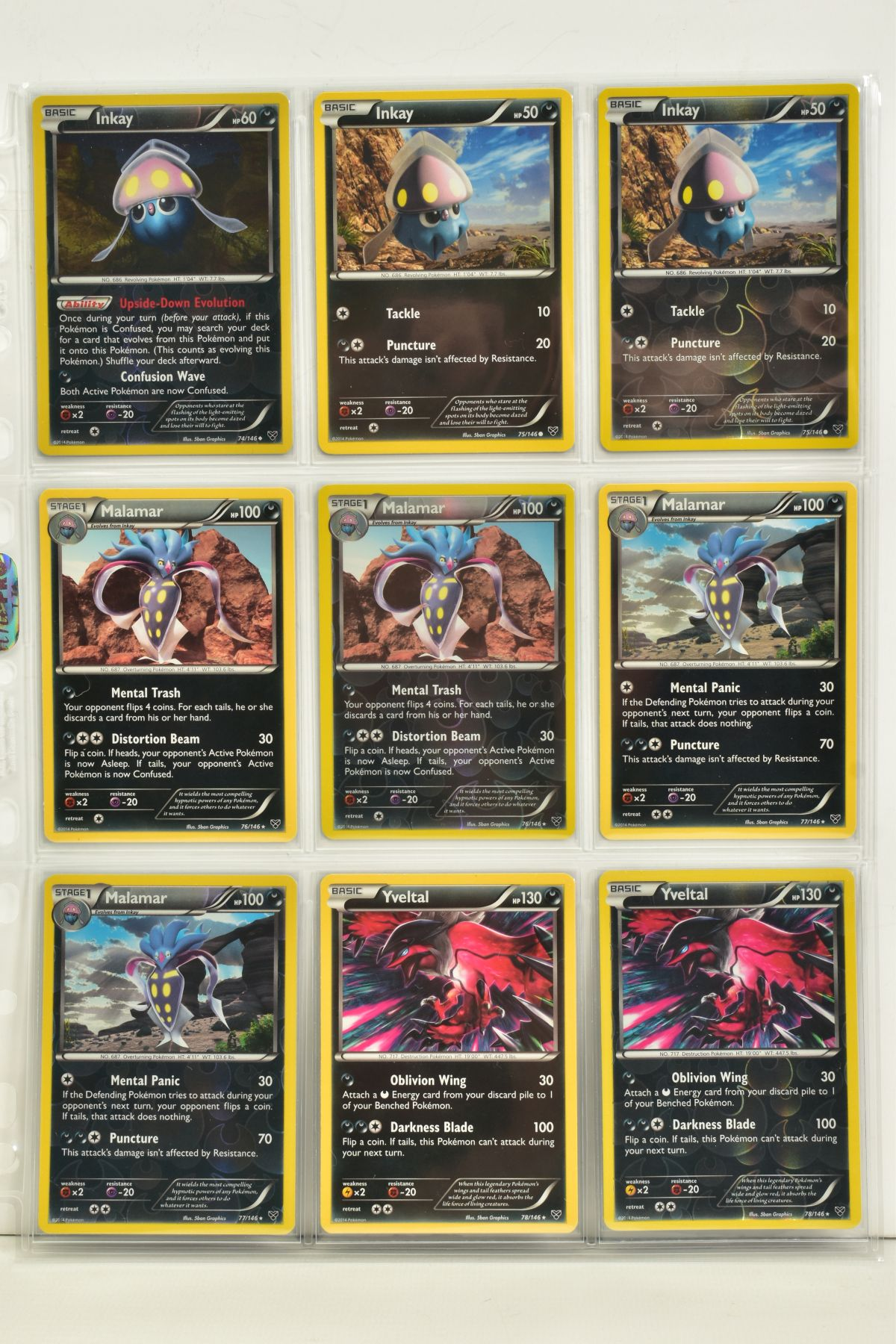 A COLLECTION OF ASSORTED POKEMON CARDS, to include complete master sets of XY Primal Clash, XY - Image 110 of 144
