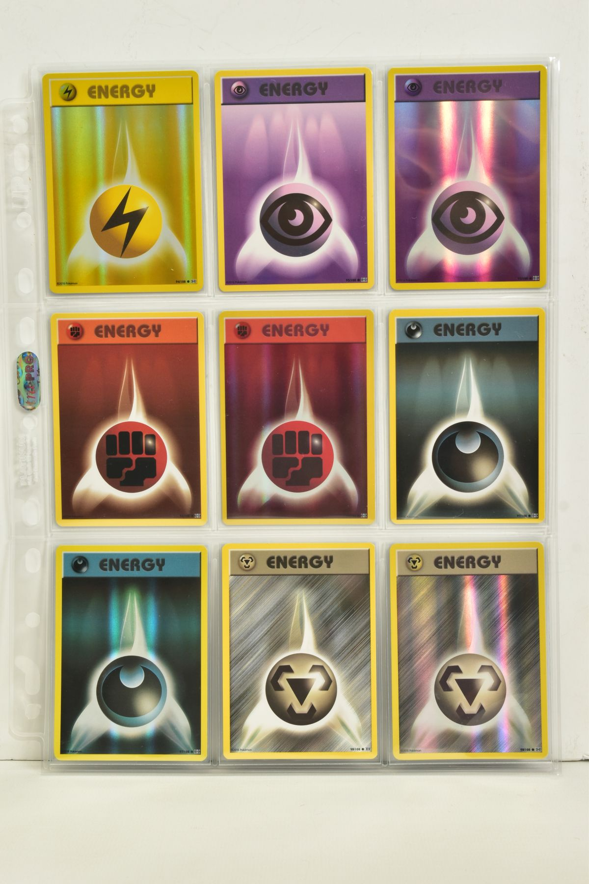 A COLLECTION OF ASSORTED POKEMON CARDS, to include complete master sets of XY Breakpoint, XY Roaring - Image 106 of 108