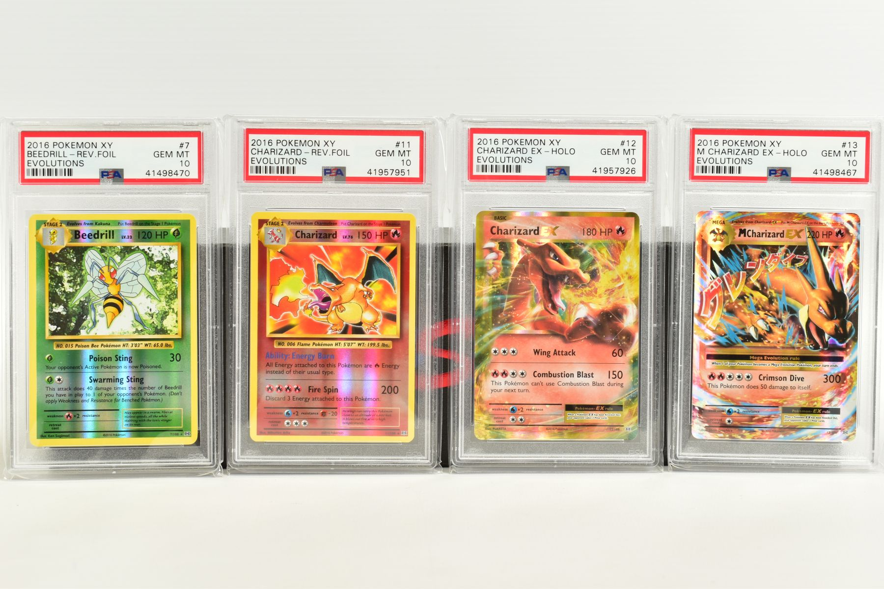 A QUANTITY OF PSA GRADED POKEMON XY EVOLUTIONS SET CARDS, all are graded GEM MINT 10 and are - Image 2 of 10