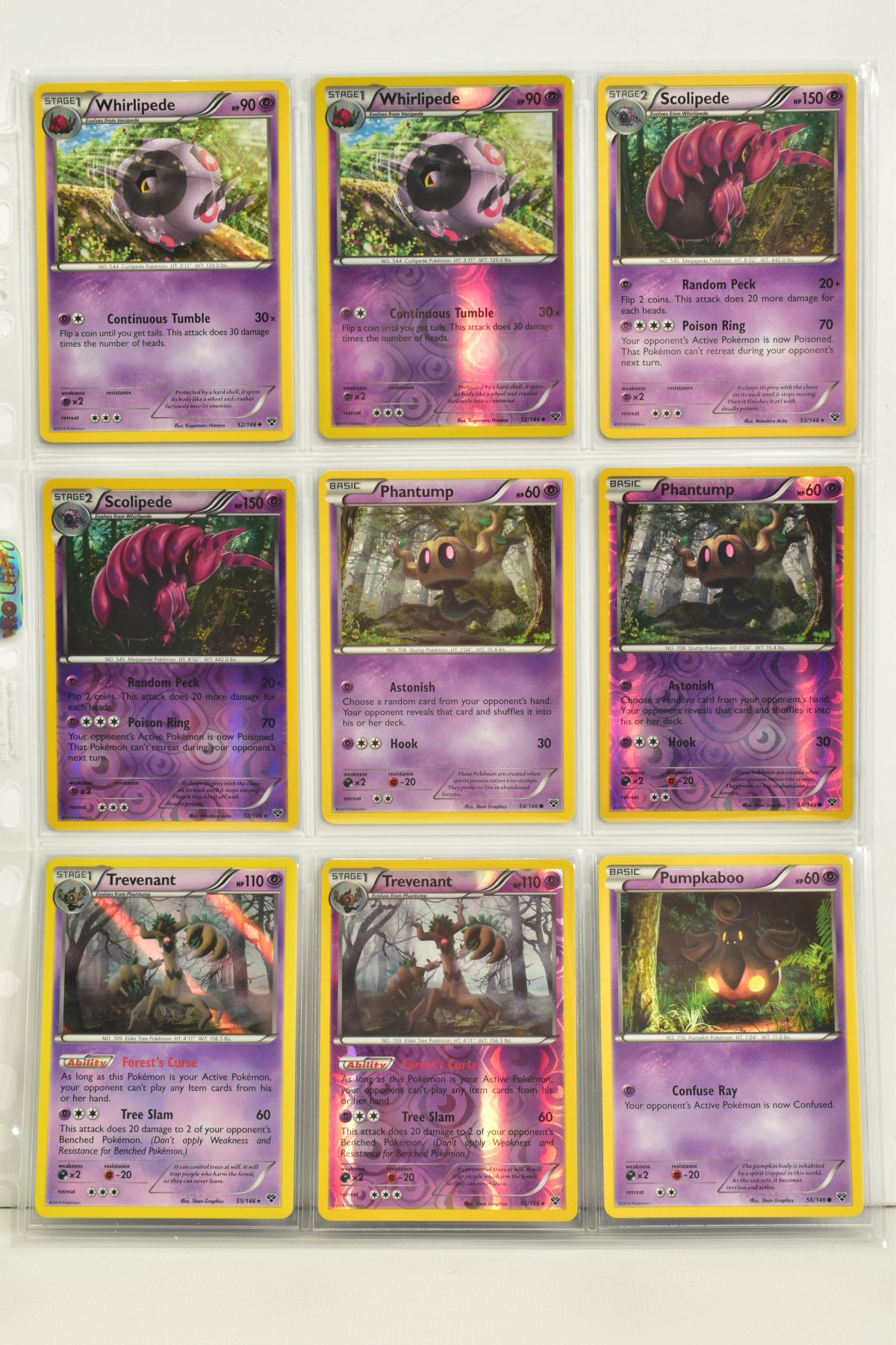 A COLLECTION OF ASSORTED POKEMON CARDS, to include complete master sets of XY Primal Clash, XY - Image 105 of 144