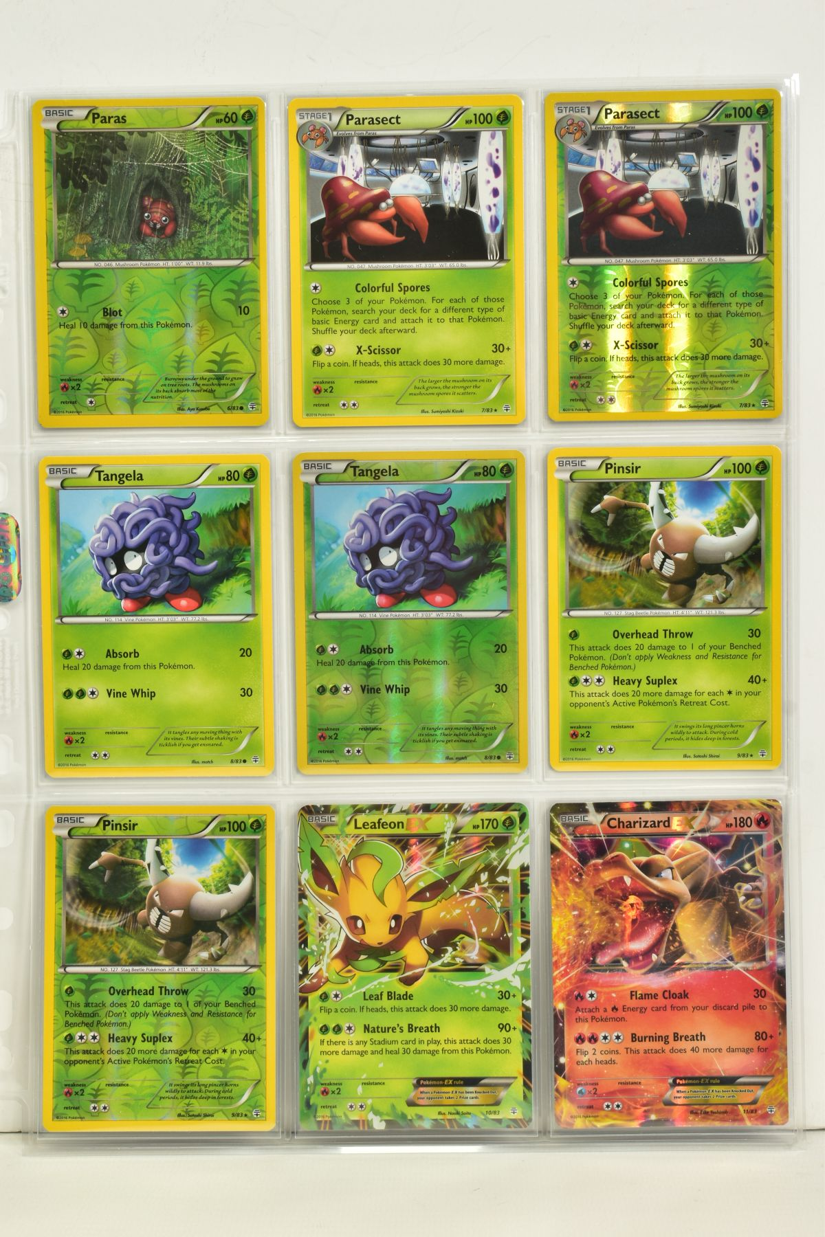 A COLLECTION OF ASSORTED POKEMON CARDS, to include complete master sets of XY Primal Clash, XY - Image 72 of 144