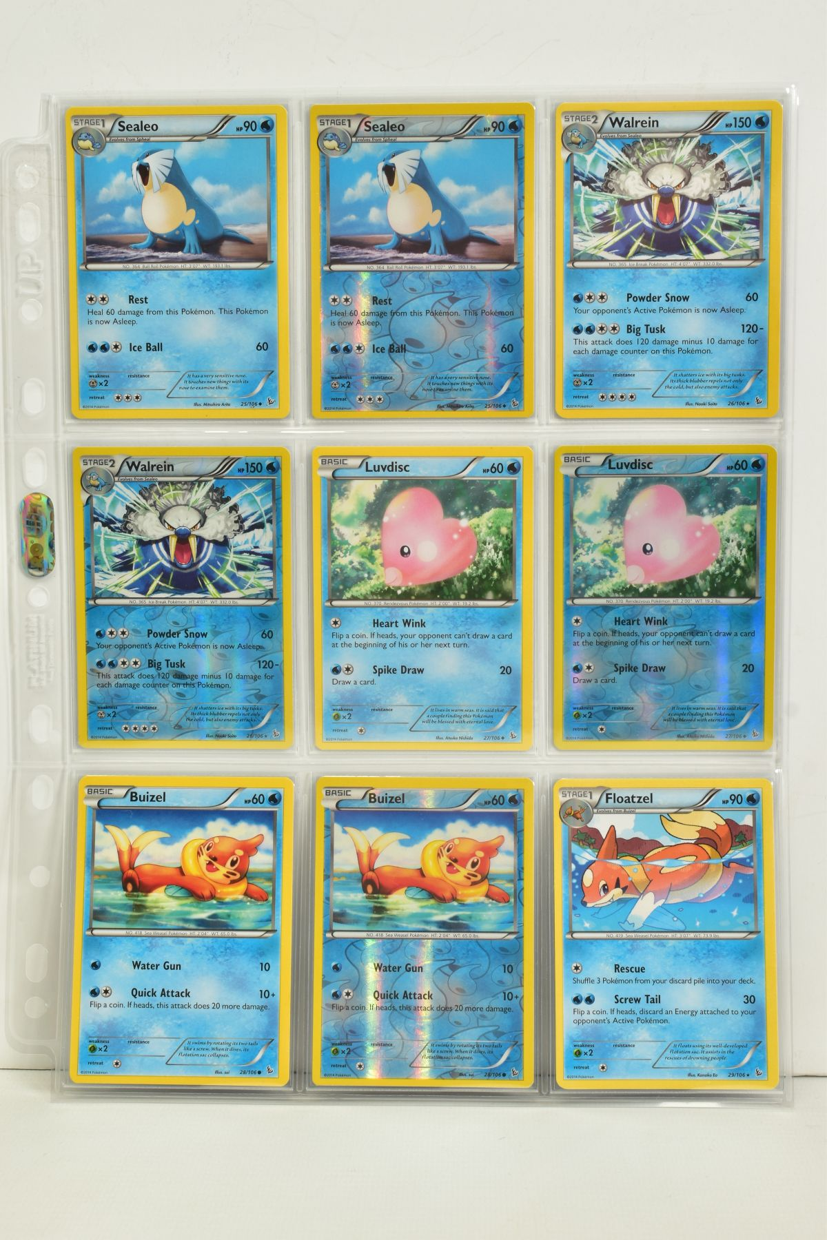 A COLLECTION OF ASSORTED POKEMON CARDS, to include complete master sets of XY Steam Siege, XY - Image 7 of 87