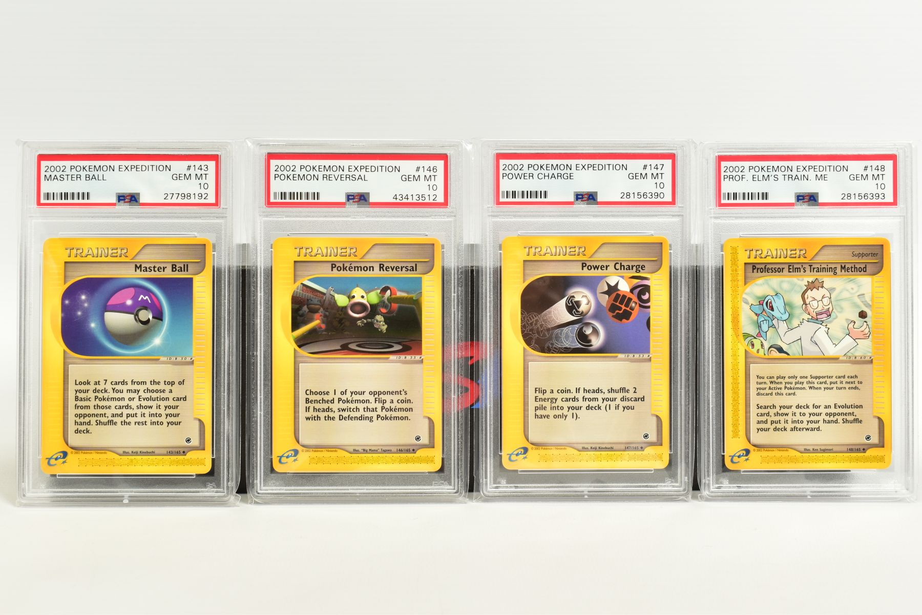 A QUANTITY OF PSA GRADED POKEMON E CARD EXPEDITION BASE SET CARDS, all are graded GEM MINT 10 and - Image 10 of 12