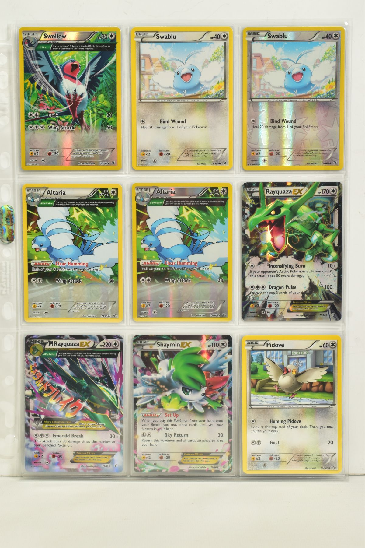 A COLLECTION OF ASSORTED POKEMON CARDS, to include complete master sets of XY Breakpoint, XY Roaring - Image 80 of 108