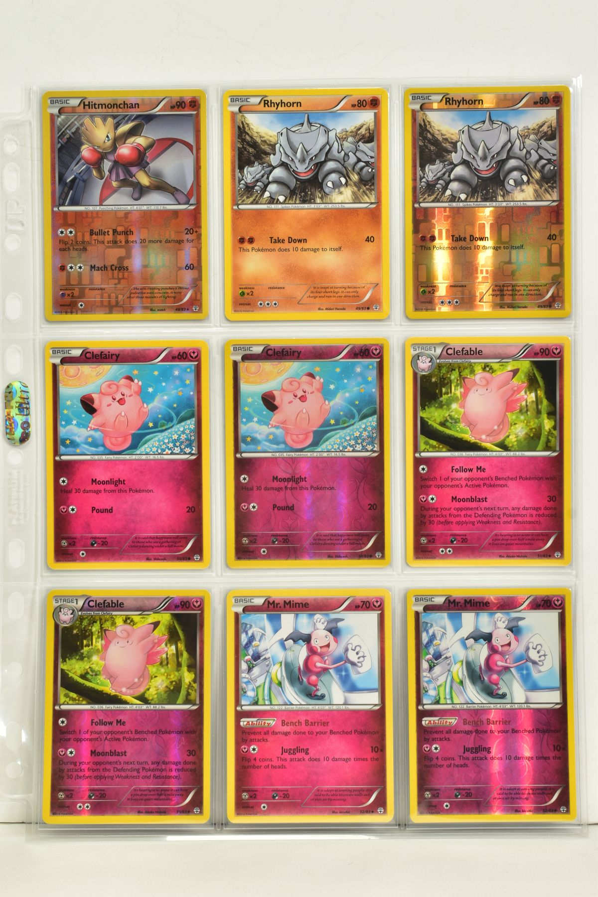 A COLLECTION OF ASSORTED POKEMON CARDS, to include complete master sets of XY Primal Clash, XY - Image 80 of 144