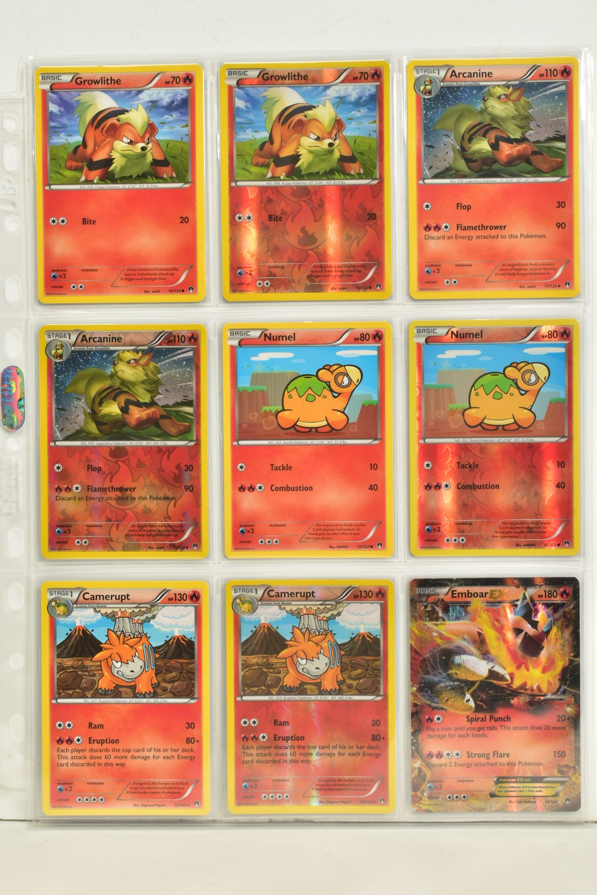 A COLLECTION OF ASSORTED POKEMON CARDS, to include complete master sets of XY Breakpoint, XY Roaring - Image 42 of 108