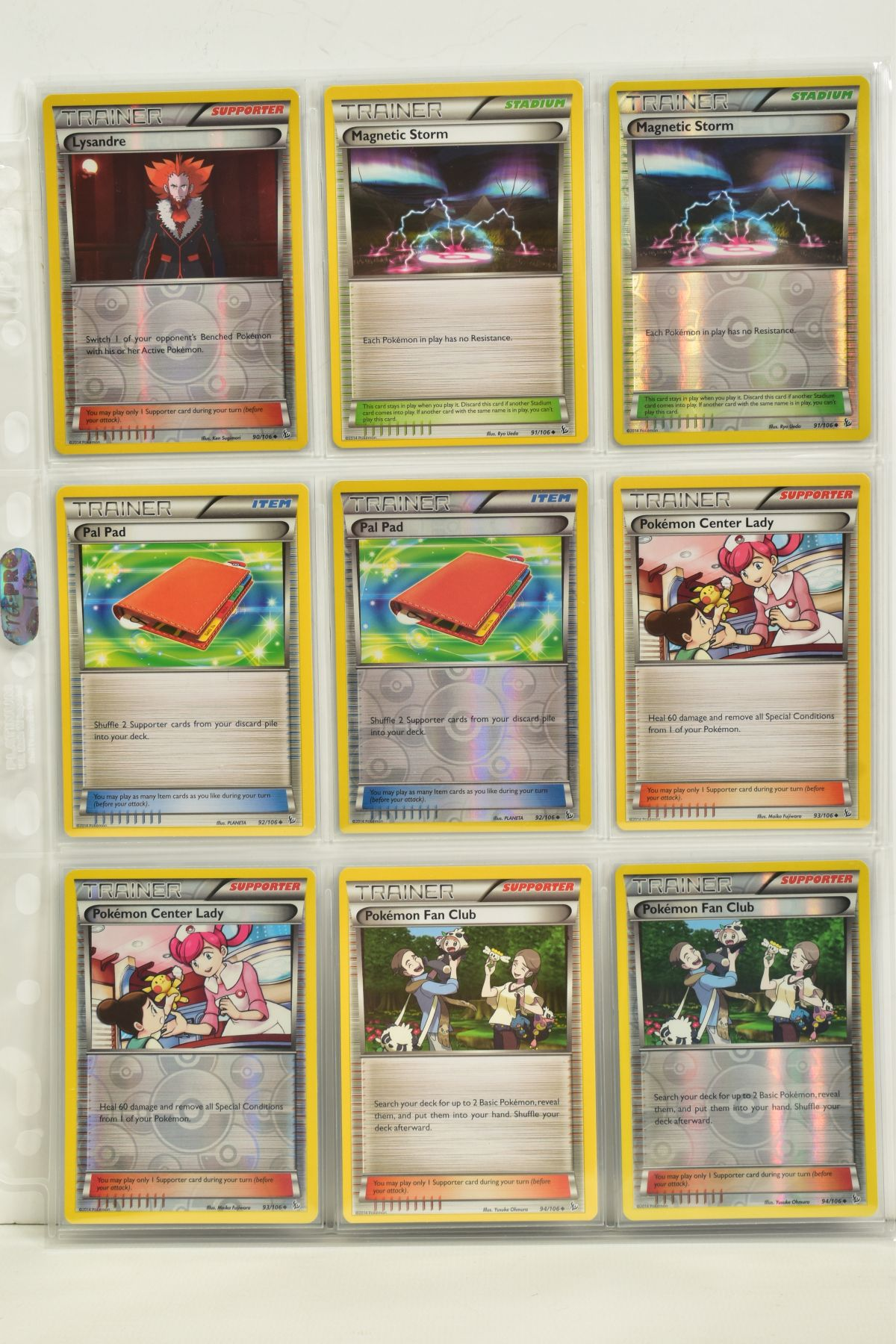 A COLLECTION OF ASSORTED POKEMON CARDS, to include complete master sets of XY Steam Siege, XY - Image 21 of 87