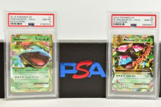 A QUANTITY OF PSA GRADED POKEMON XY EVOLUTIONS SET CARDS, all are graded GEM MINT 10 and are
