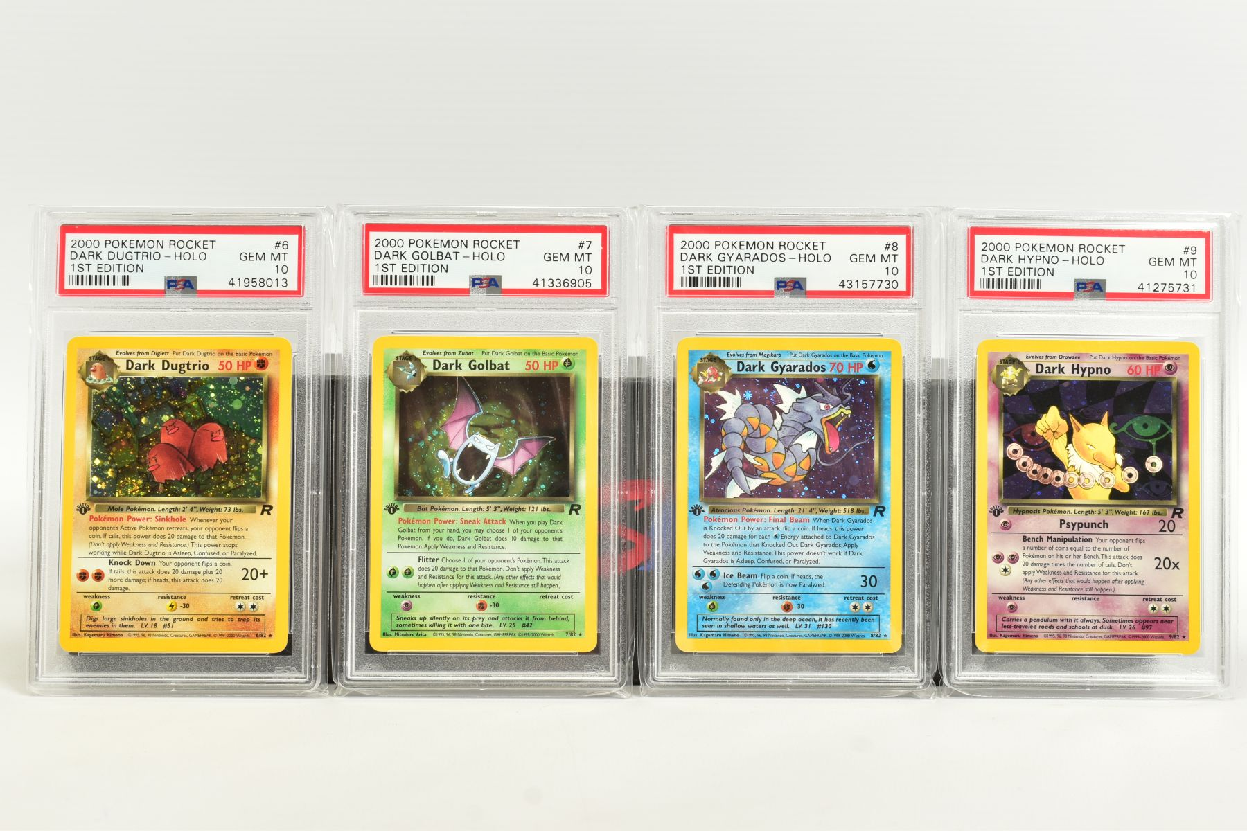 A QUANTITY OF PSA GRADED POKEMON 1ST EDITION TEAM ROCKET SET CARDS, assorted cards between numbers 1 - Image 2 of 11