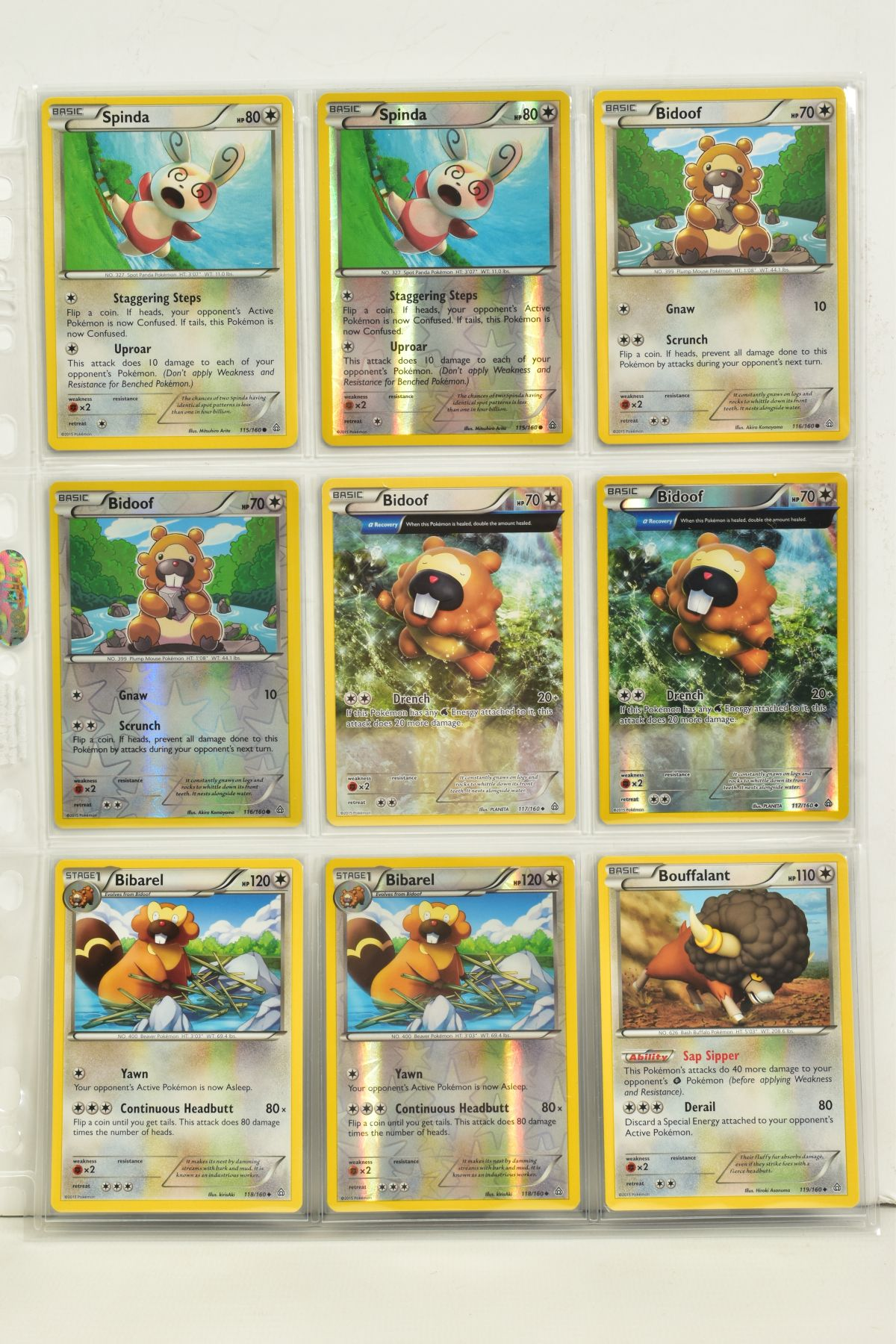 A COLLECTION OF ASSORTED POKEMON CARDS, to include complete master sets of XY Primal Clash, XY - Image 58 of 144