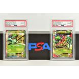 A QUANTITY OF PSA GRADED POKEMON XY CARDS, assorted cards from the XY Ancient Origins, XY Phantom