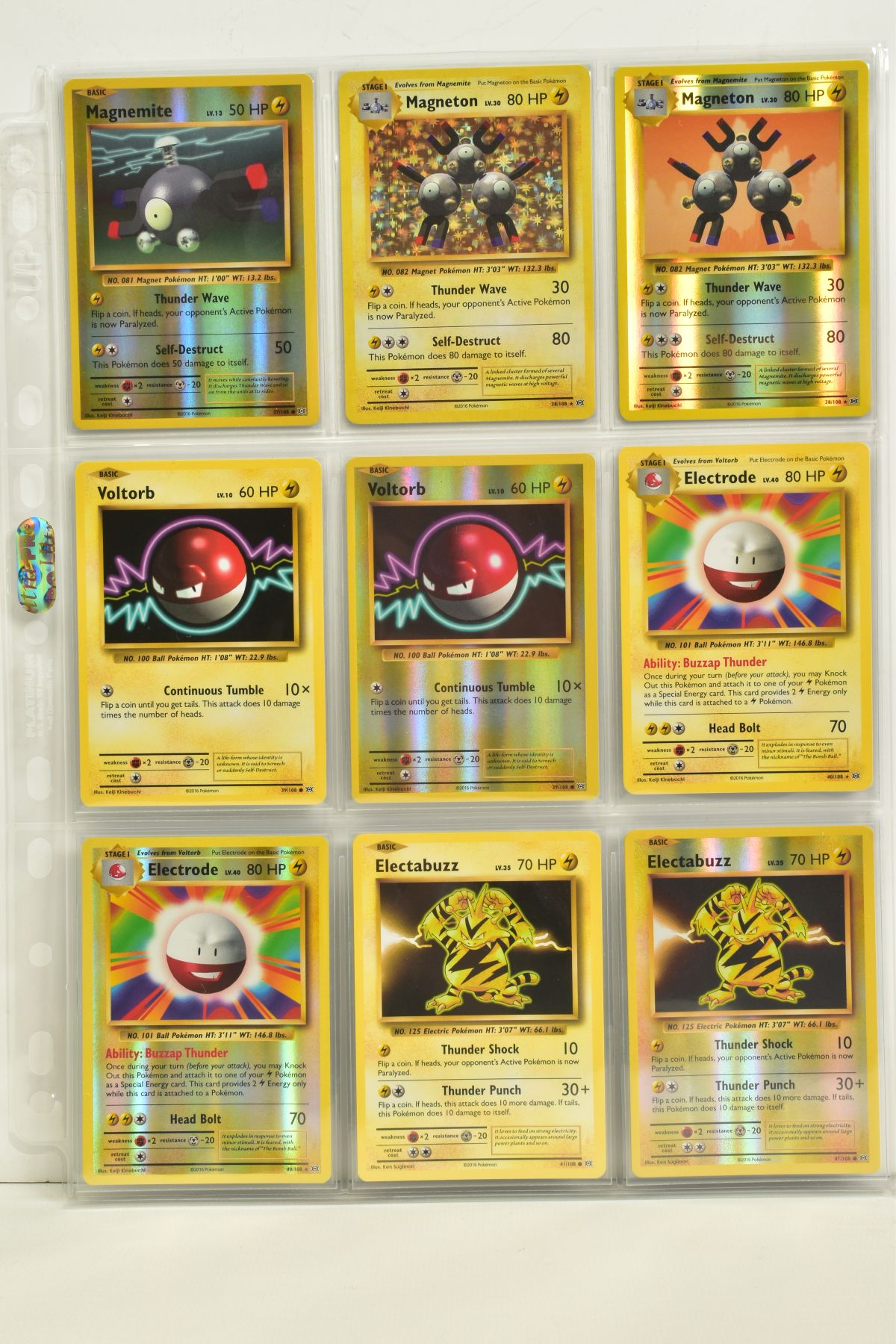 A COLLECTION OF ASSORTED POKEMON CARDS, to include complete master sets of XY Breakpoint, XY Roaring - Image 94 of 108