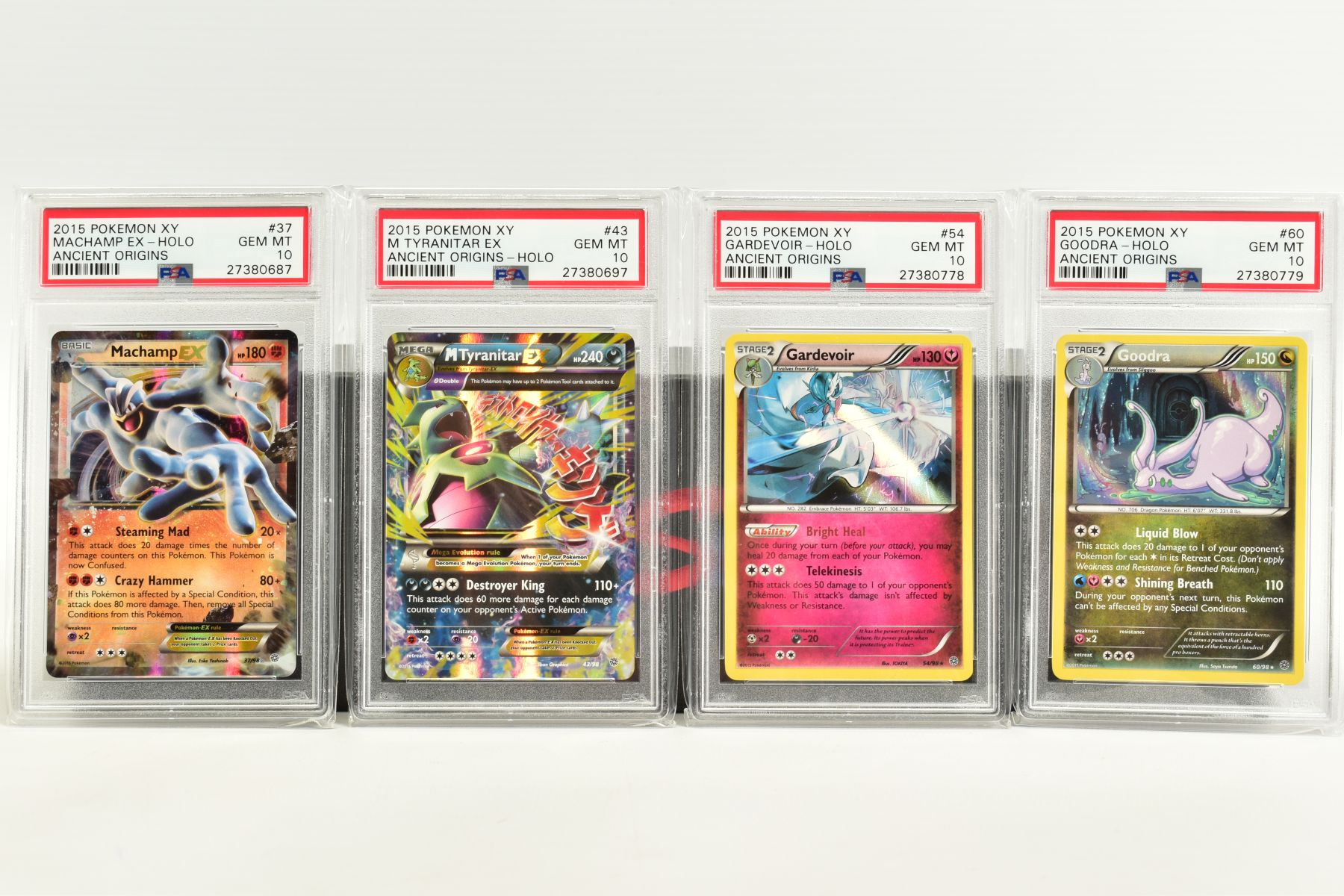 A QUANTITY OF PSA GRADED POKEMON XY CARDS, assorted cards from the XY Ancient Origins, XY Phantom - Image 4 of 6