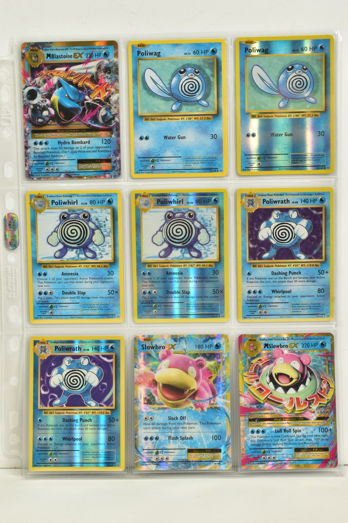 A COLLECTION OF ASSORTED POKEMON CARDS, to include complete master sets of XY Breakpoint, XY Roaring - Image 91 of 108