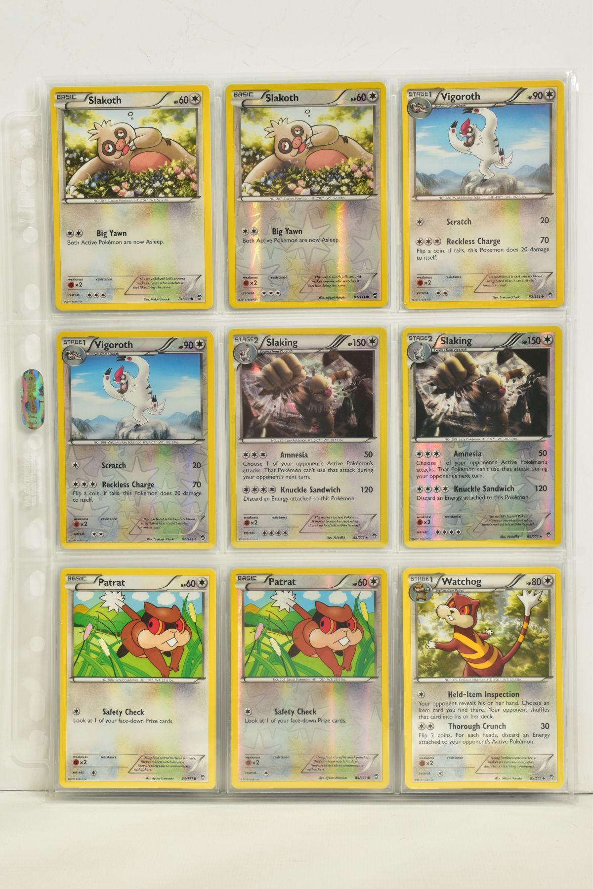 A COLLECTION OF ASSORTED POKEMON CARDS, to include complete master sets of XY Phantom Forces, XY - Image 94 of 101