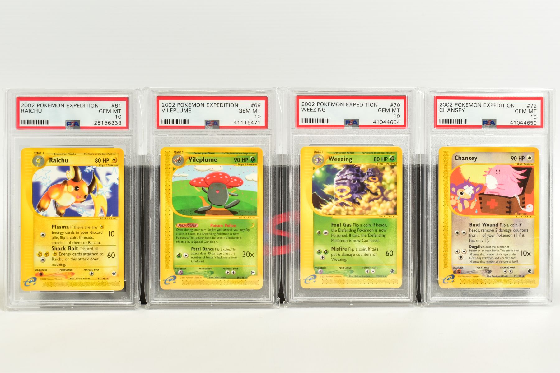 A QUANTITY OF PSA GRADED POKEMON E CARD EXPEDITION BASE SET CARDS, all are graded GEM MINT 10 and - Image 3 of 12