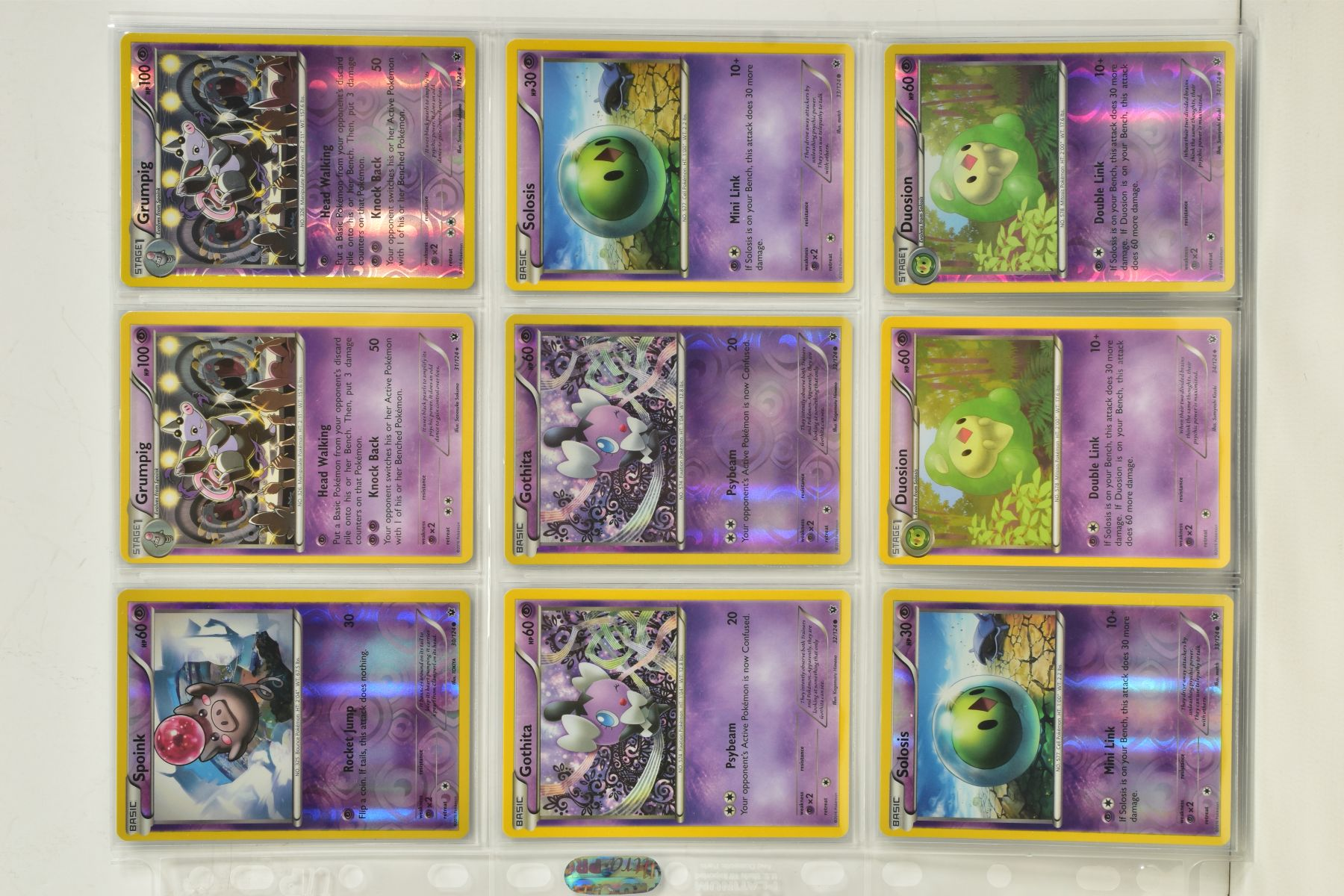 A COLLECTION OF ASSORTED POKEMON CARDS, to include complete master sets of XY Steam Siege, XY - Image 31 of 87