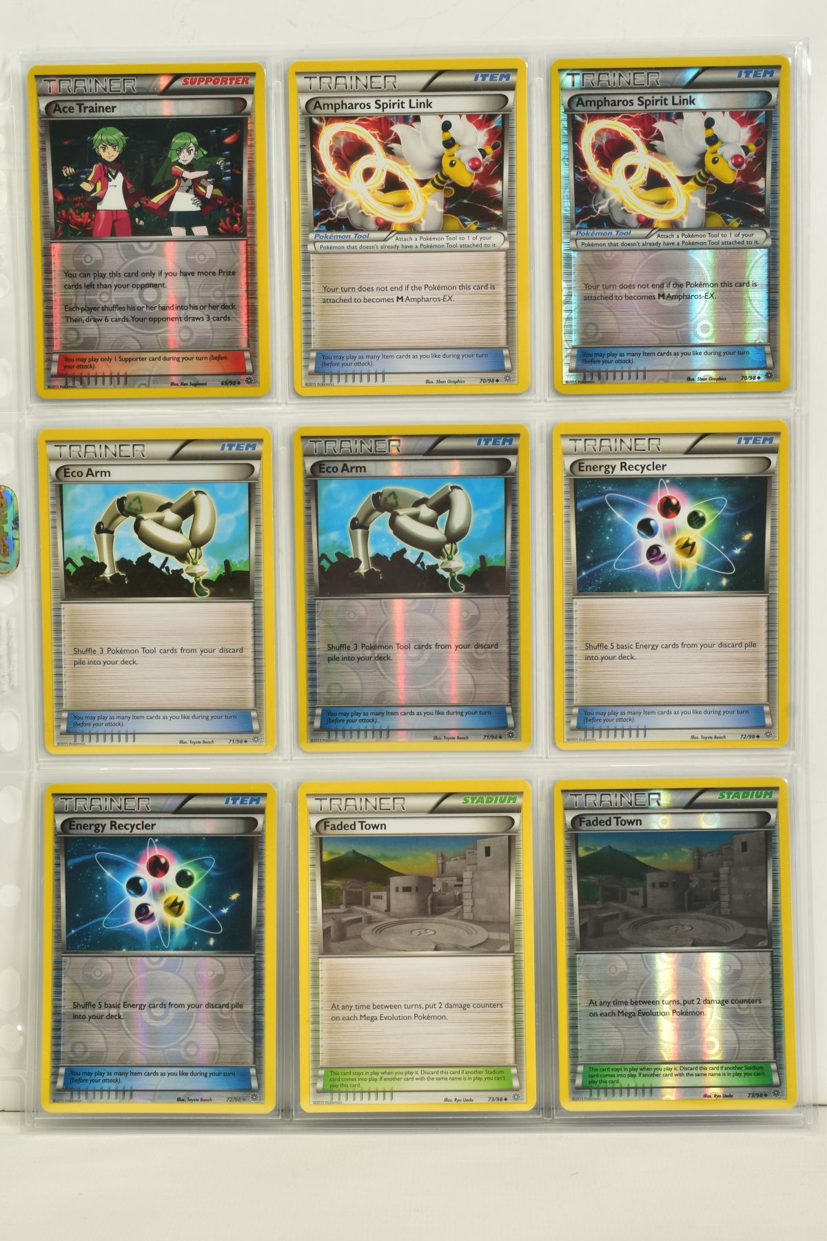 A COLLECTION OF ASSORTED POKEMON CARDS, to include complete master sets of XY Phantom Forces, XY - Image 16 of 101
