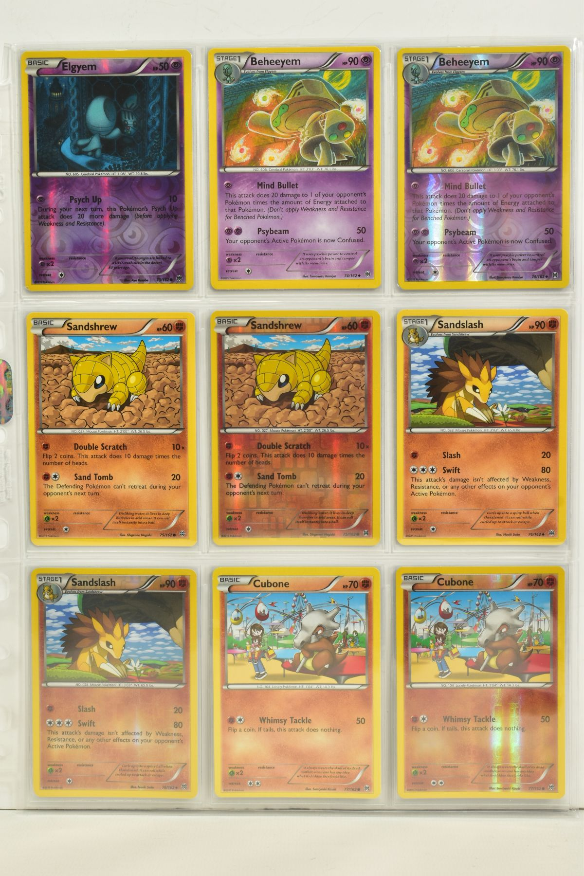 A COLLECTION OF ASSORTED POKEMON CARDS, to include complete master sets of XY Breakpoint, XY Roaring - Image 17 of 108