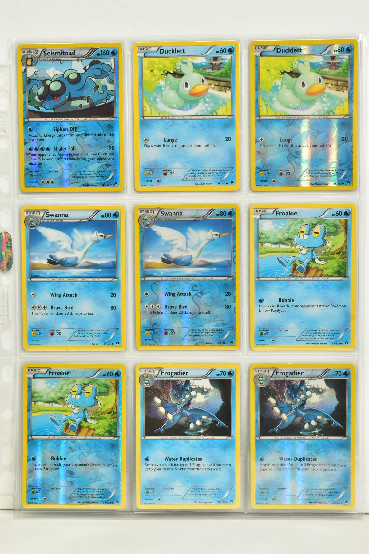 A COLLECTION OF ASSORTED POKEMON CARDS, to include complete master sets of XY Breakpoint, XY Roaring - Image 47 of 108