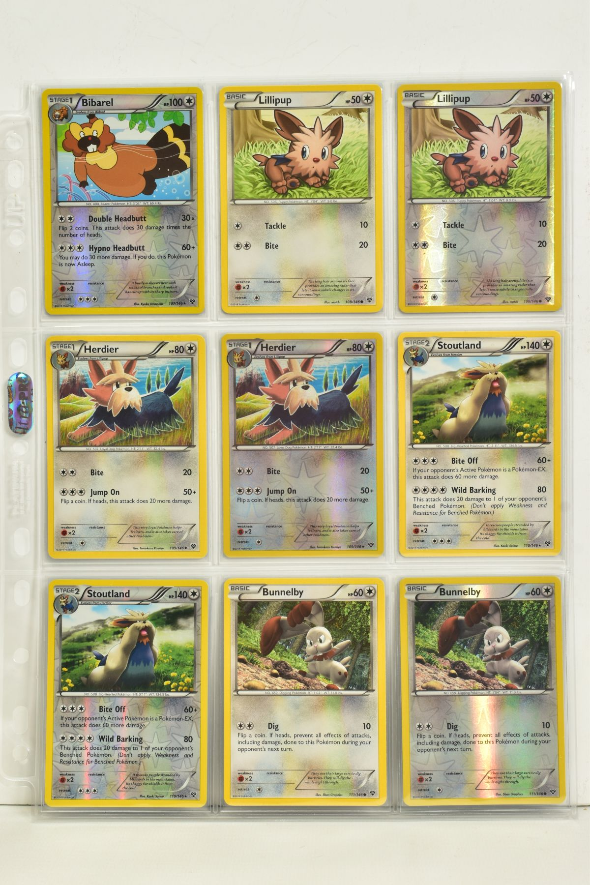 A COLLECTION OF ASSORTED POKEMON CARDS, to include complete master sets of XY Primal Clash, XY - Image 117 of 144