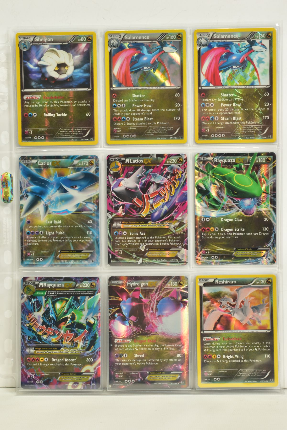 A COLLECTION OF ASSORTED POKEMON CARDS, to include complete master sets of XY Breakpoint, XY Roaring - Image 77 of 108