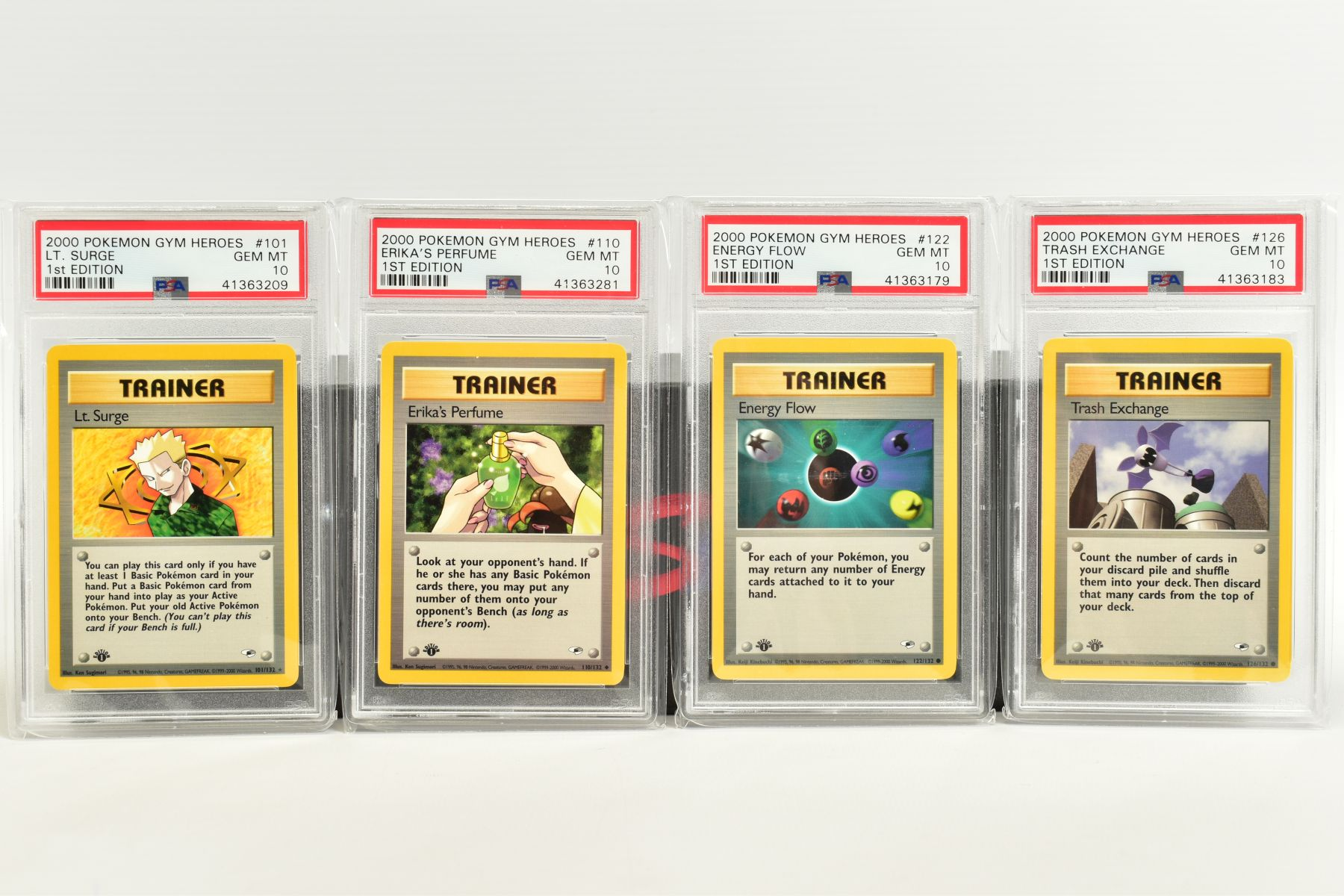 A QUANTITY OF PSA GRADED POKEMON 1ST EDITION GYM HEROES AND GYM CHALLENGE SET CARDS, all are - Image 11 of 12