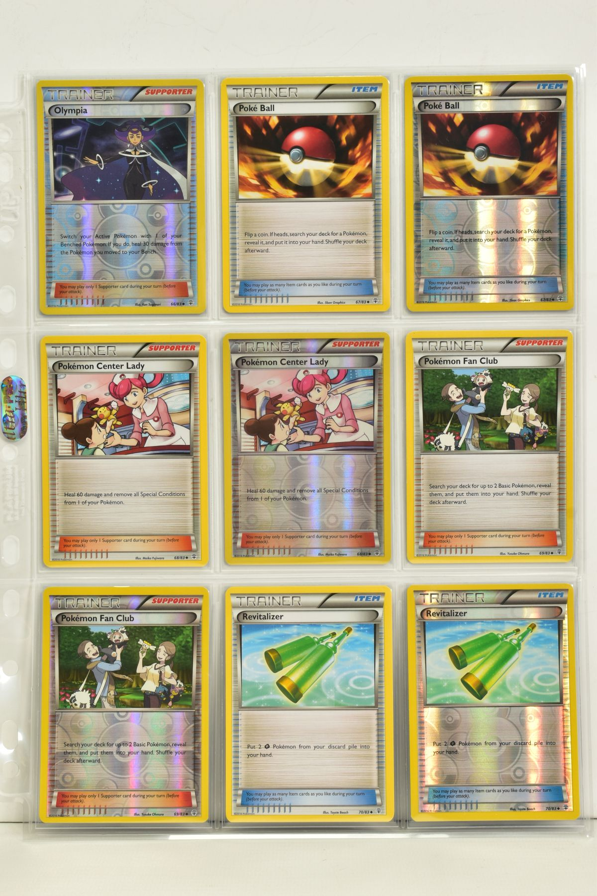 A COLLECTION OF ASSORTED POKEMON CARDS, to include complete master sets of XY Primal Clash, XY - Image 84 of 144