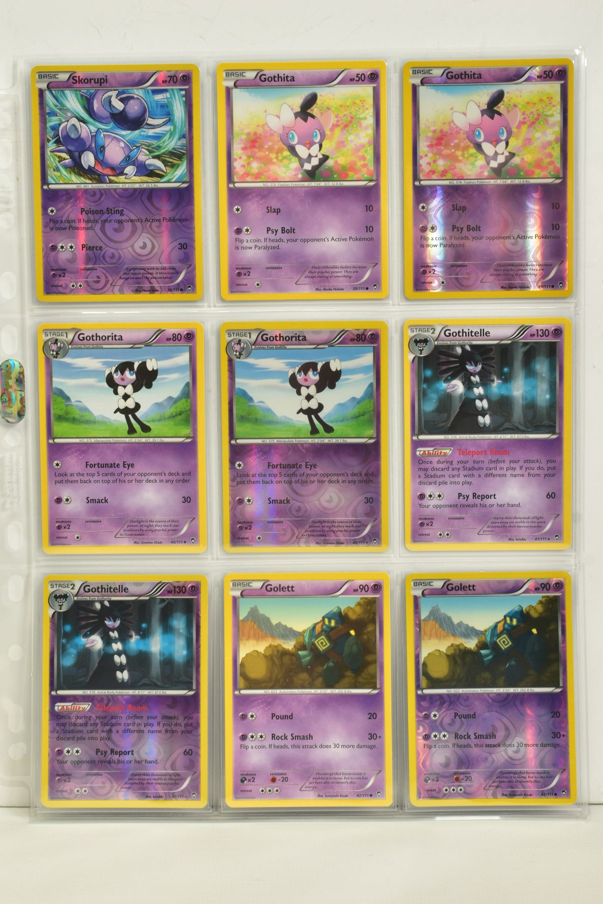 A COLLECTION OF ASSORTED POKEMON CARDS, to include complete master sets of XY Phantom Forces, XY - Image 85 of 101