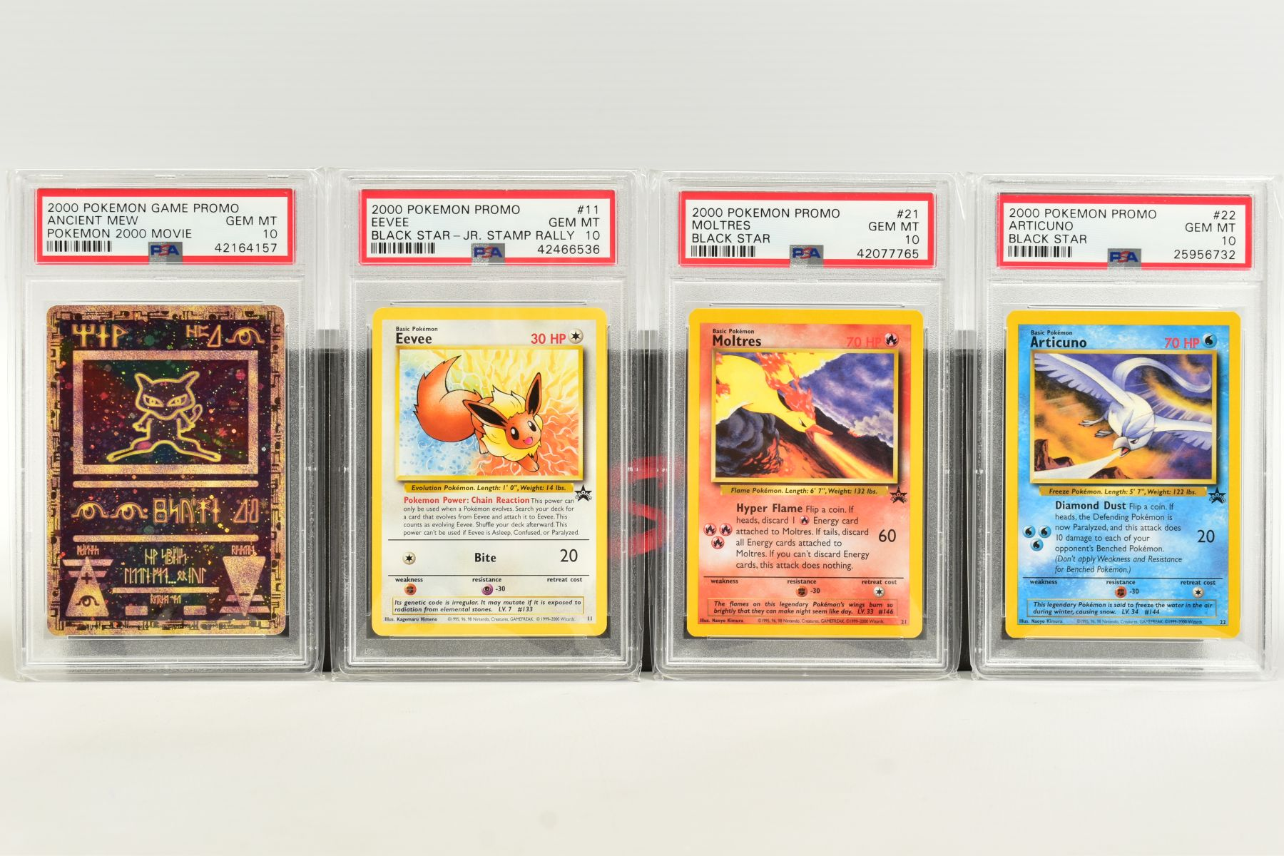 A QUANTITY OF PSA GRADED WIZARDS OF THE COAST POKEMON BLACK STAR PROMO CARDS, all date from 2000 - Image 7 of 8