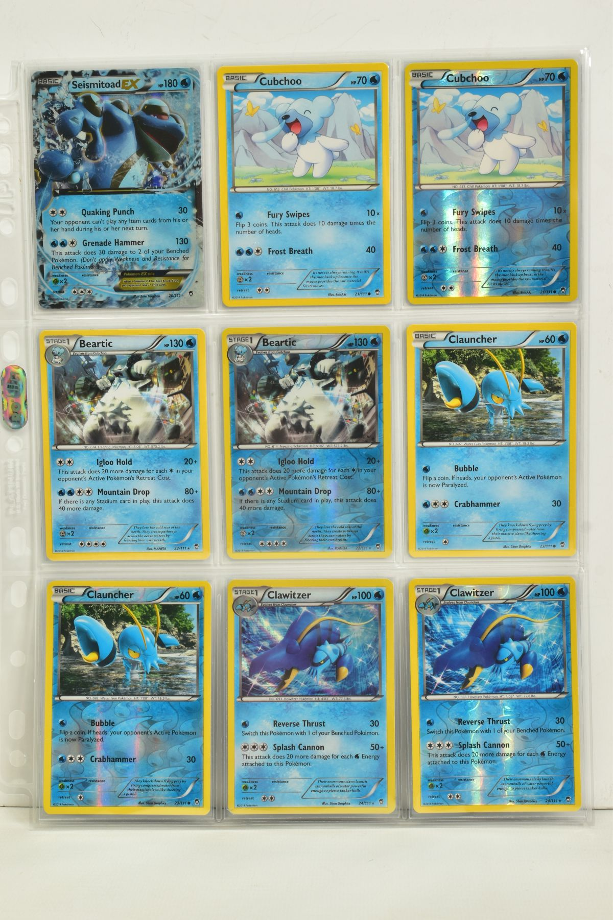 A COLLECTION OF ASSORTED POKEMON CARDS, to include complete master sets of XY Phantom Forces, XY - Image 81 of 101