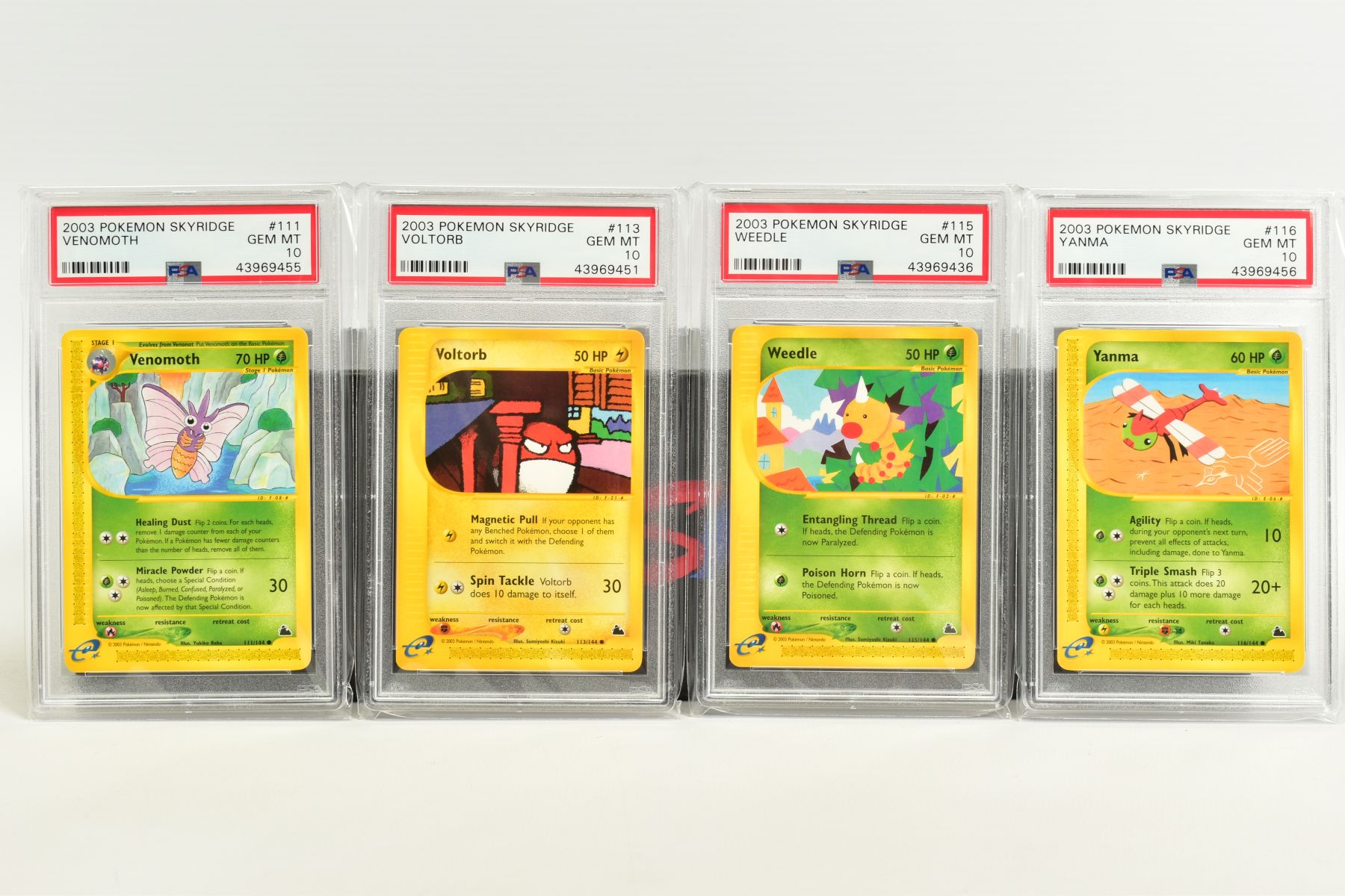 A QUANTITY OF PSA GRADED POKEMON SKYRIDGE SET CARDS, all are graded GEM MINT 10 and are sealed in - Image 6 of 9