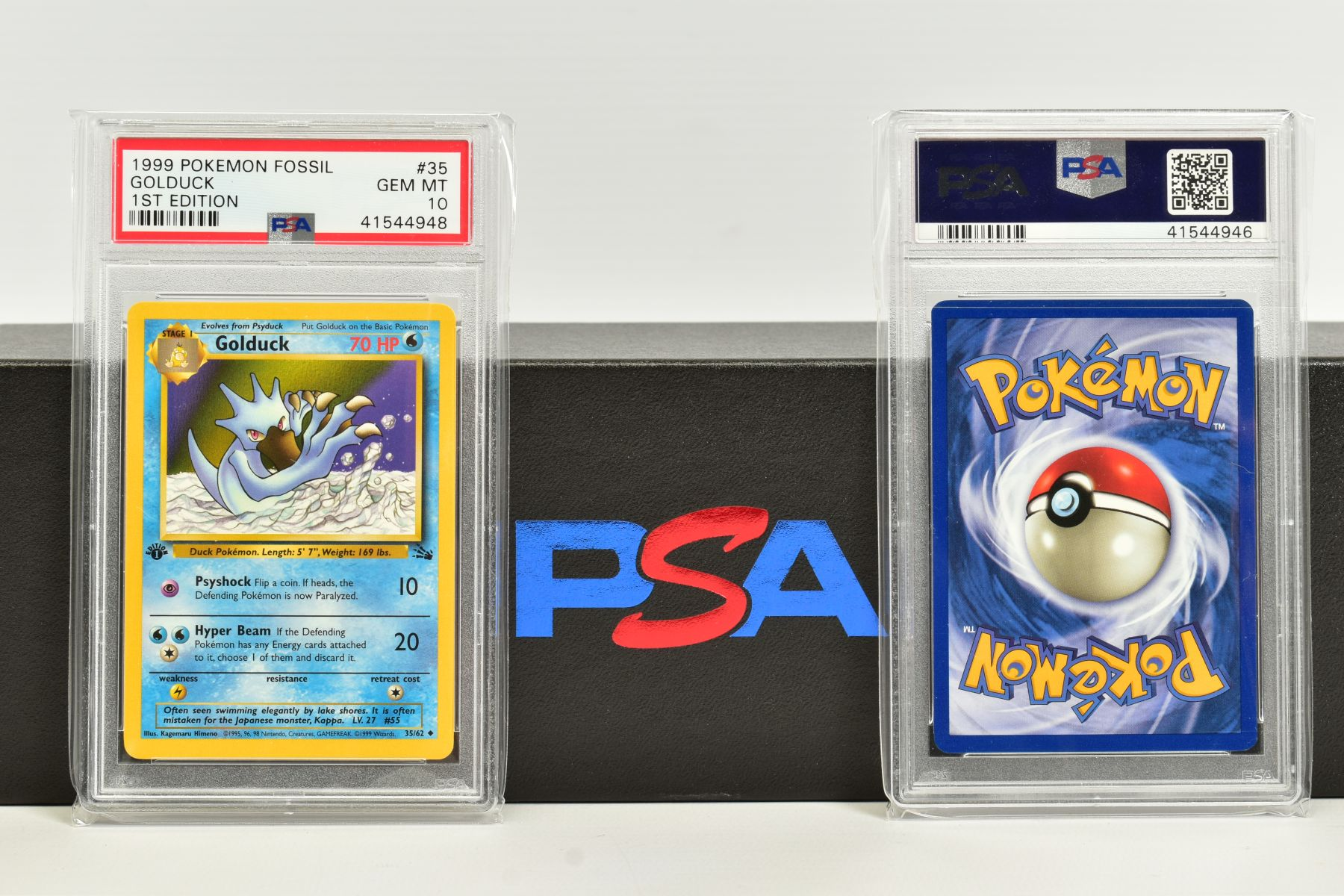 A QUANTITY OF PSA GRADED POKEMON 1ST EDITION FOSSIL SET CARDS, assorted cards between numbers 3 - Image 8 of 8