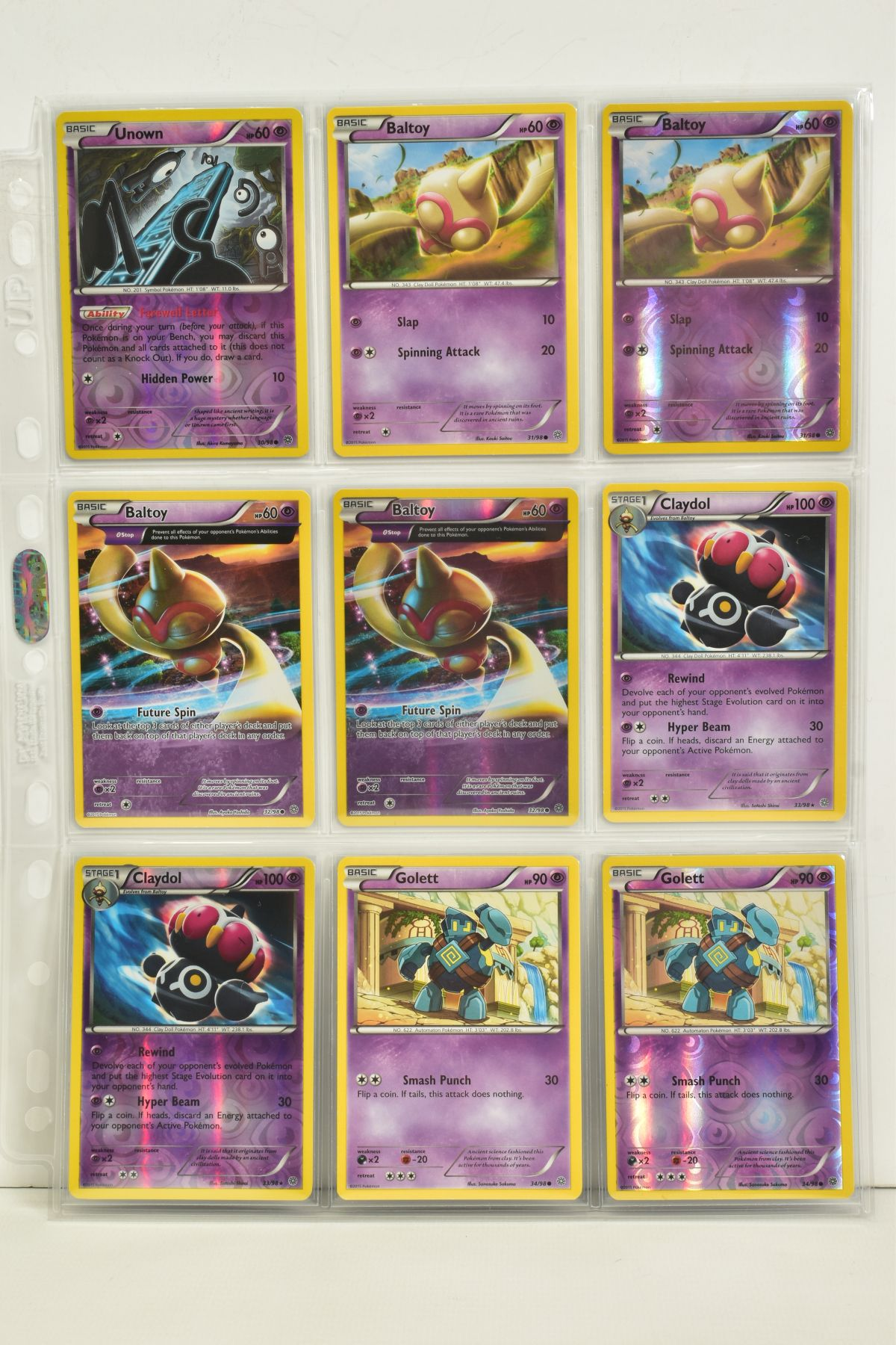 A COLLECTION OF ASSORTED POKEMON CARDS, to include complete master sets of XY Phantom Forces, XY - Image 8 of 101