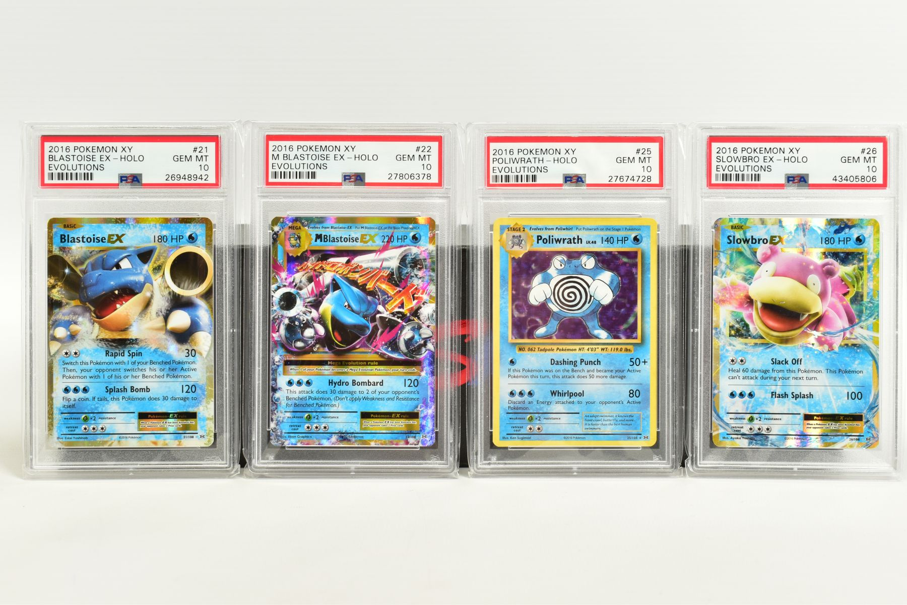 A QUANTITY OF PSA GRADED POKEMON XY EVOLUTIONS SET CARDS, all are graded GEM MINT 10 and are - Image 3 of 10