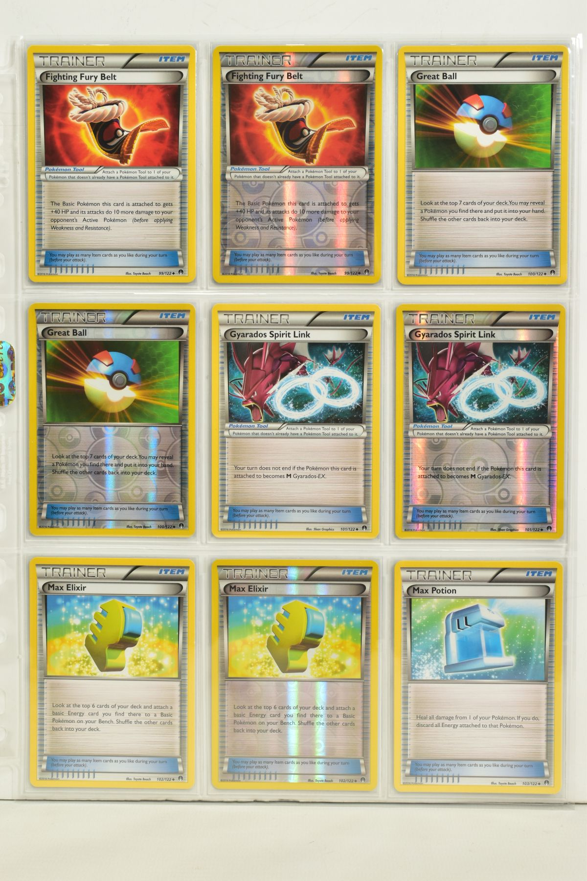 A COLLECTION OF ASSORTED POKEMON CARDS, to include complete master sets of XY Breakpoint, XY Roaring - Image 60 of 108
