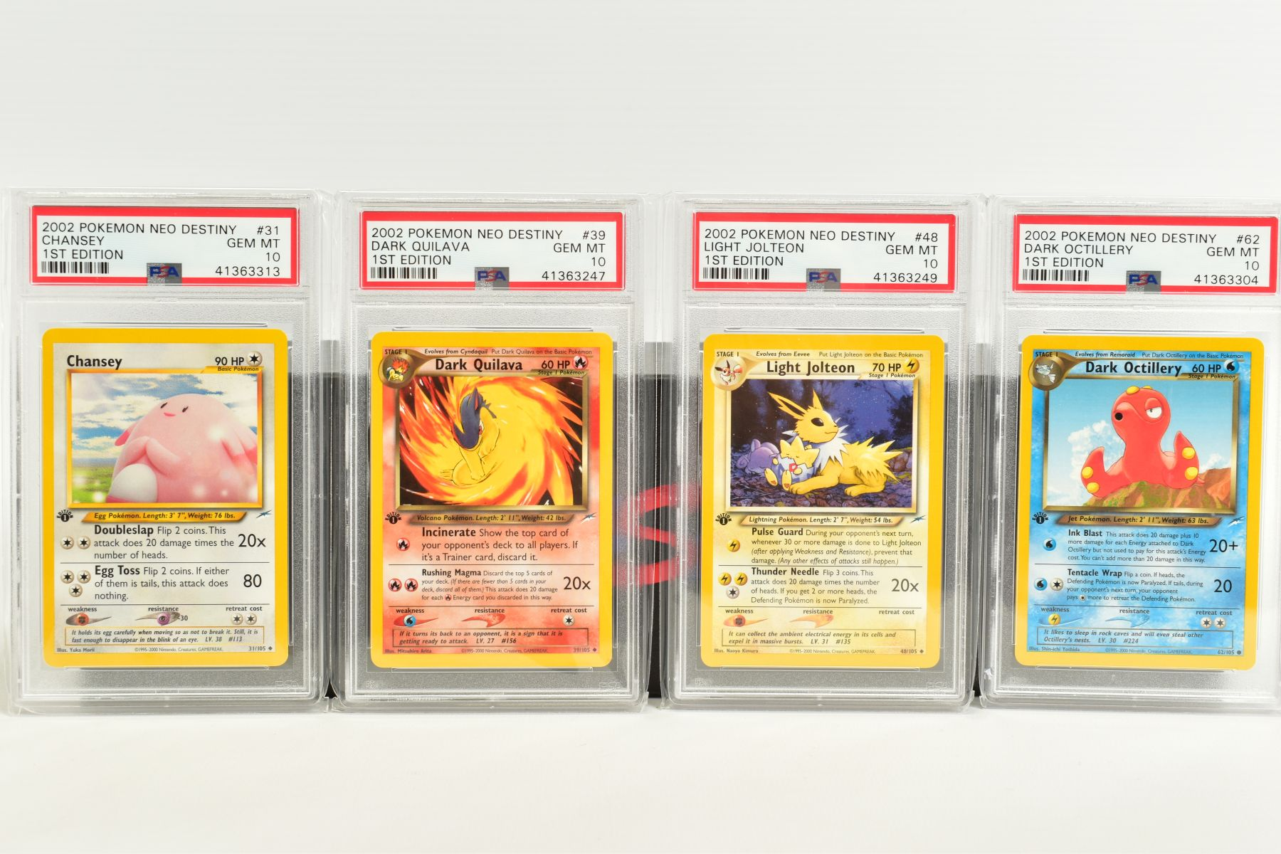 A QUANTITY OF PSA GRADED POKEMON 1ST EDITION NEO DESTINY SET CARDS, all are graded GEM MINT 10 and - Image 3 of 7