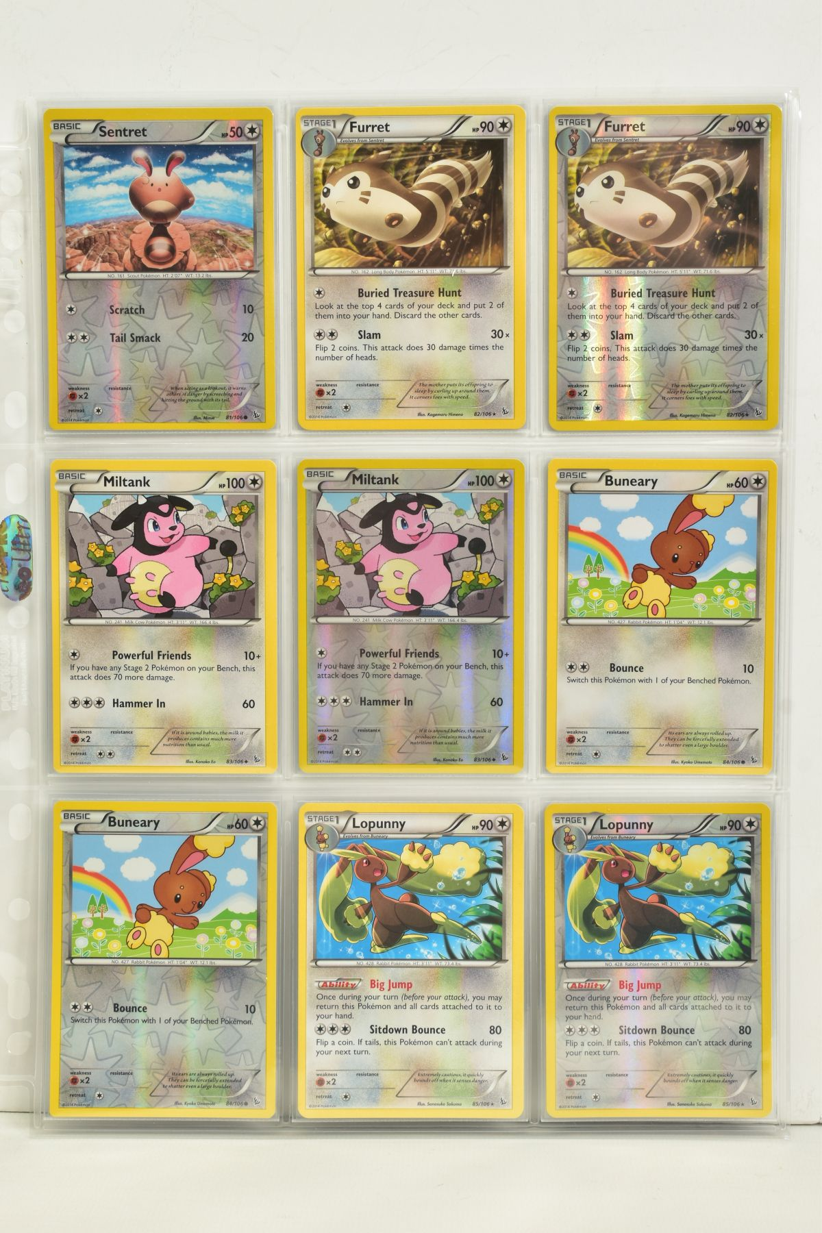A COLLECTION OF ASSORTED POKEMON CARDS, to include complete master sets of XY Steam Siege, XY - Image 19 of 87