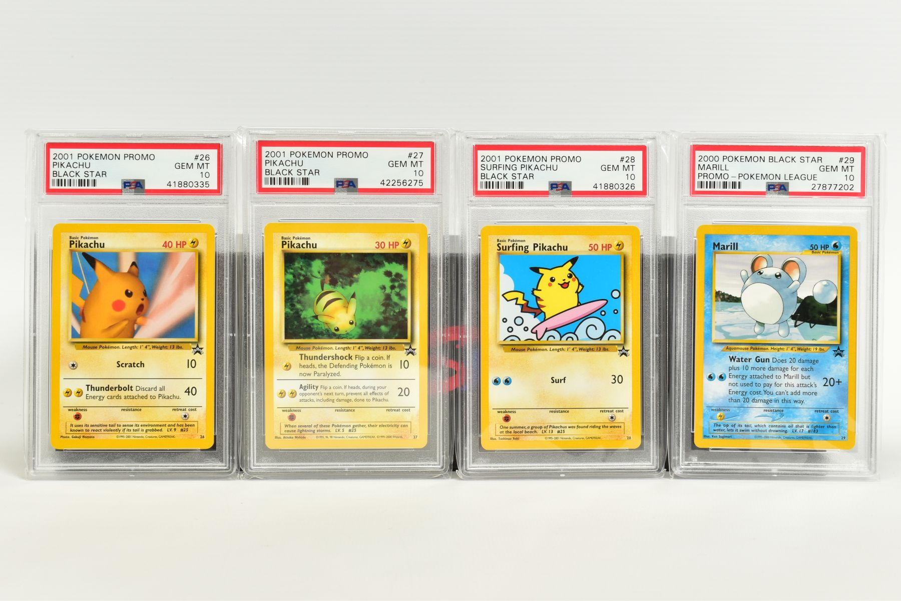 A QUANTITY OF PSA GRADED WIZARDS OF THE COAST POKEMON BLACK STAR PROMO CARDS, all date from 1999 - Image 7 of 8