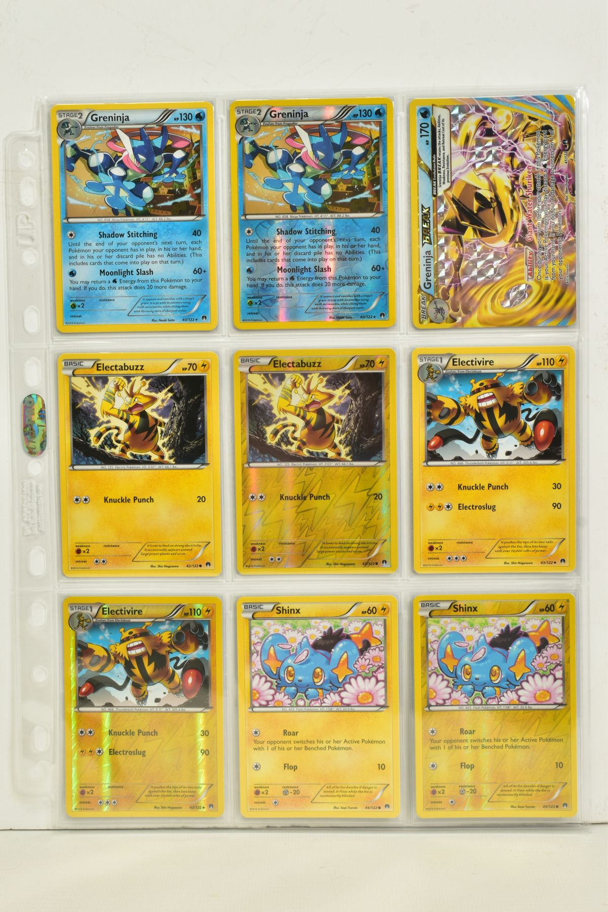 A COLLECTION OF ASSORTED POKEMON CARDS, to include complete master sets of XY Breakpoint, XY Roaring - Image 48 of 108