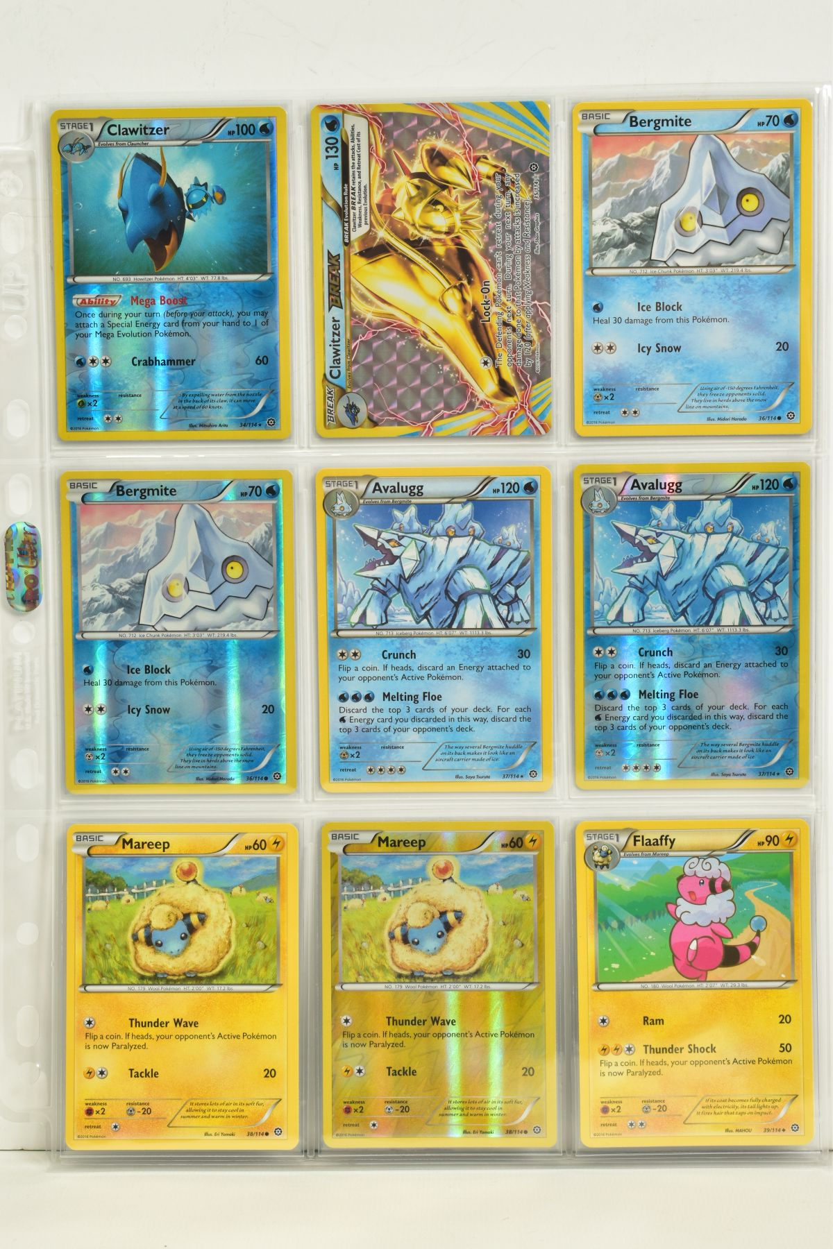 A COLLECTION OF ASSORTED POKEMON CARDS, to include complete master sets of XY Steam Siege, XY - Image 69 of 87