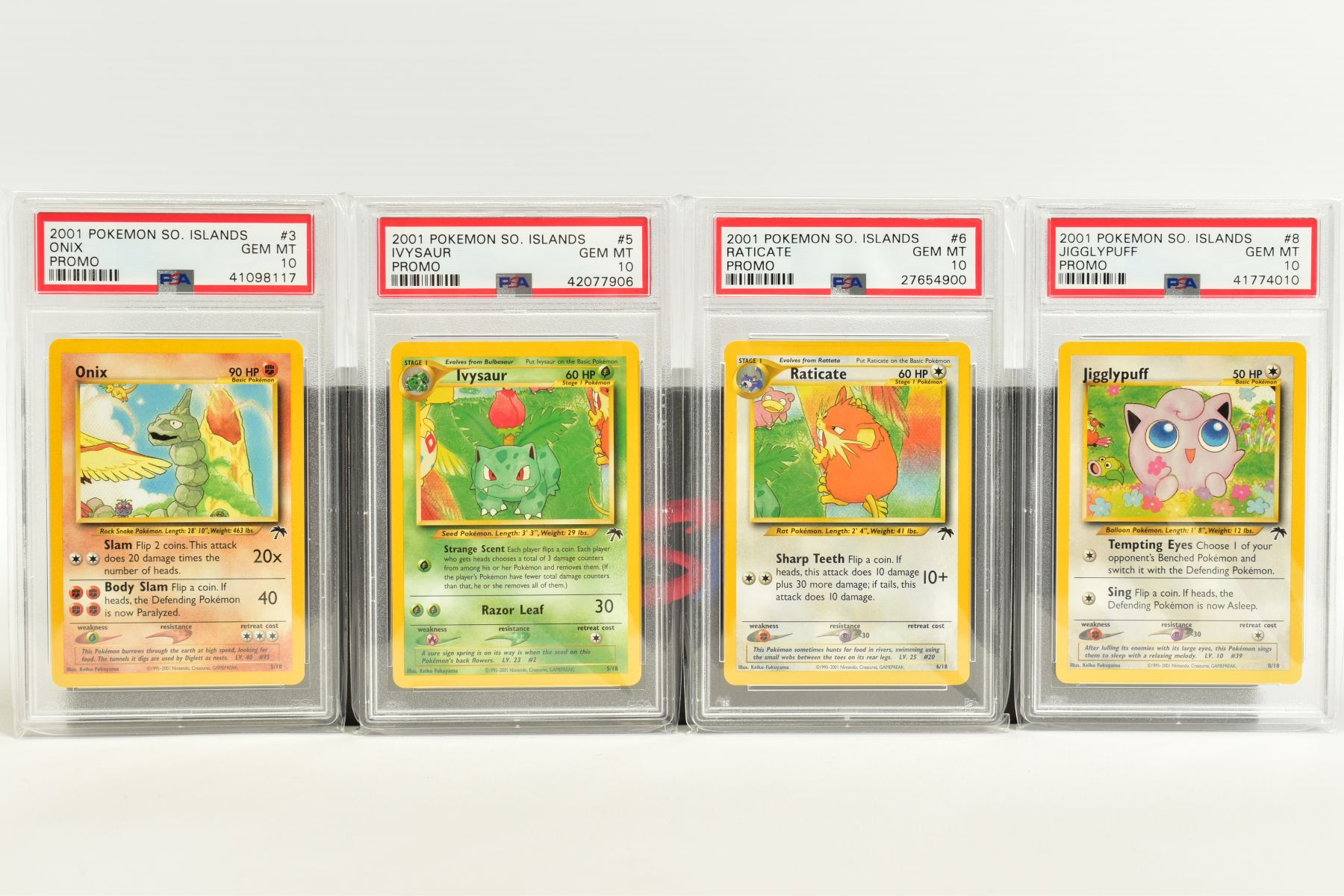 A QUANTITY OF PSA GRADED POKEMON CARDS, assorted cards from the Southern Islands Promos, Build-A- - Image 2 of 12