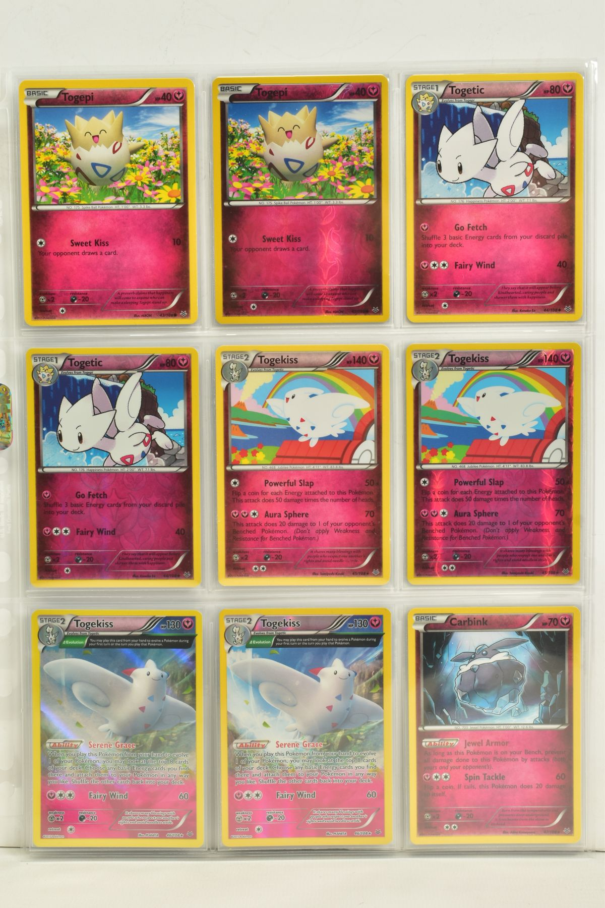 A COLLECTION OF ASSORTED POKEMON CARDS, to include complete master sets of XY Breakpoint, XY Roaring - Image 74 of 108