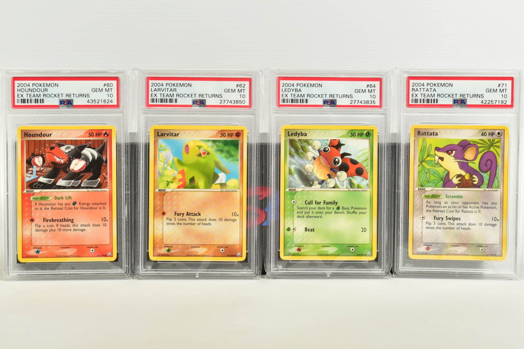 A QUANTITY OF PSA GRADED POKEMON EX TEAM ROCKET RETURNS AND EX RUBY & SAPPHIRE SET CARDS, all are - Image 8 of 15