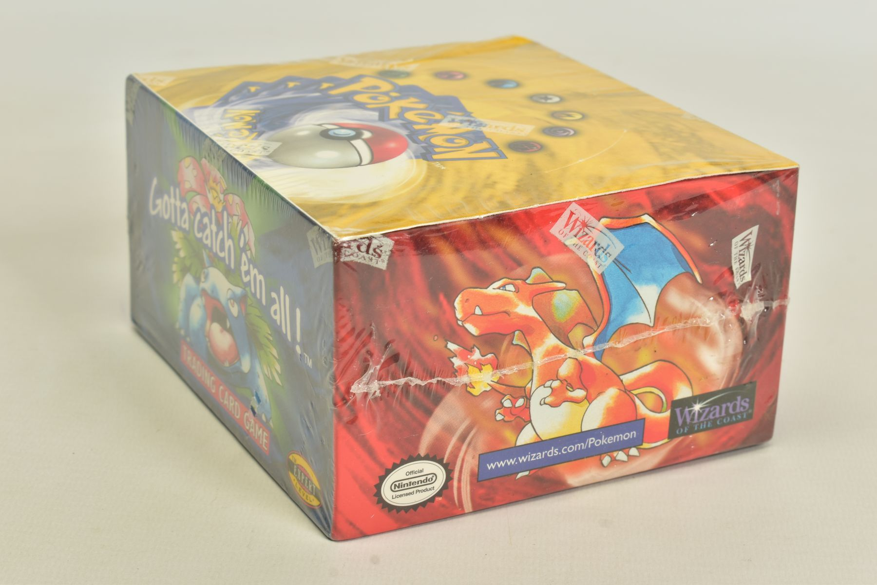 A SEALED POKEMON BASE SET BOOSTER BOX, has some minor damage to cellophane on top left hand corner - Image 4 of 13