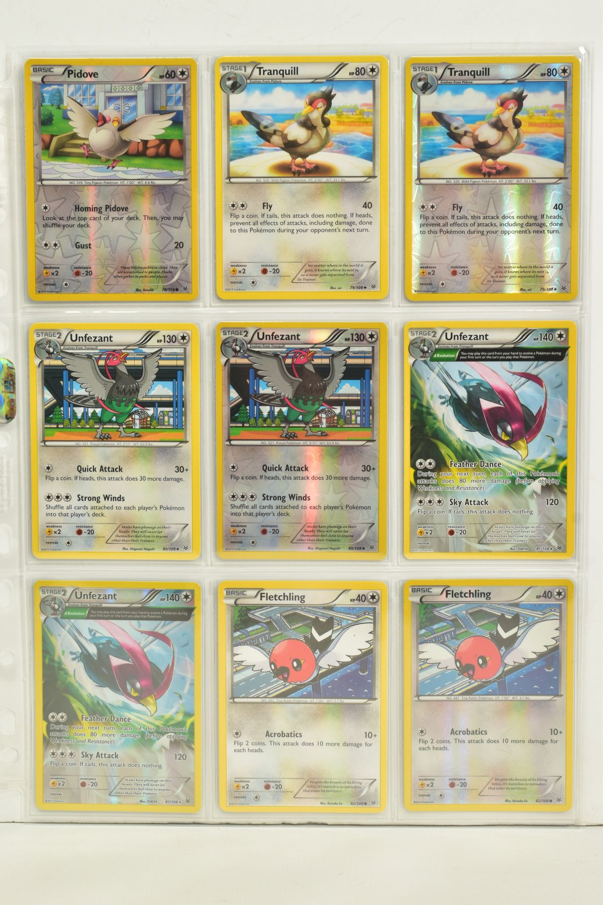 A COLLECTION OF ASSORTED POKEMON CARDS, to include complete master sets of XY Breakpoint, XY Roaring - Image 81 of 108