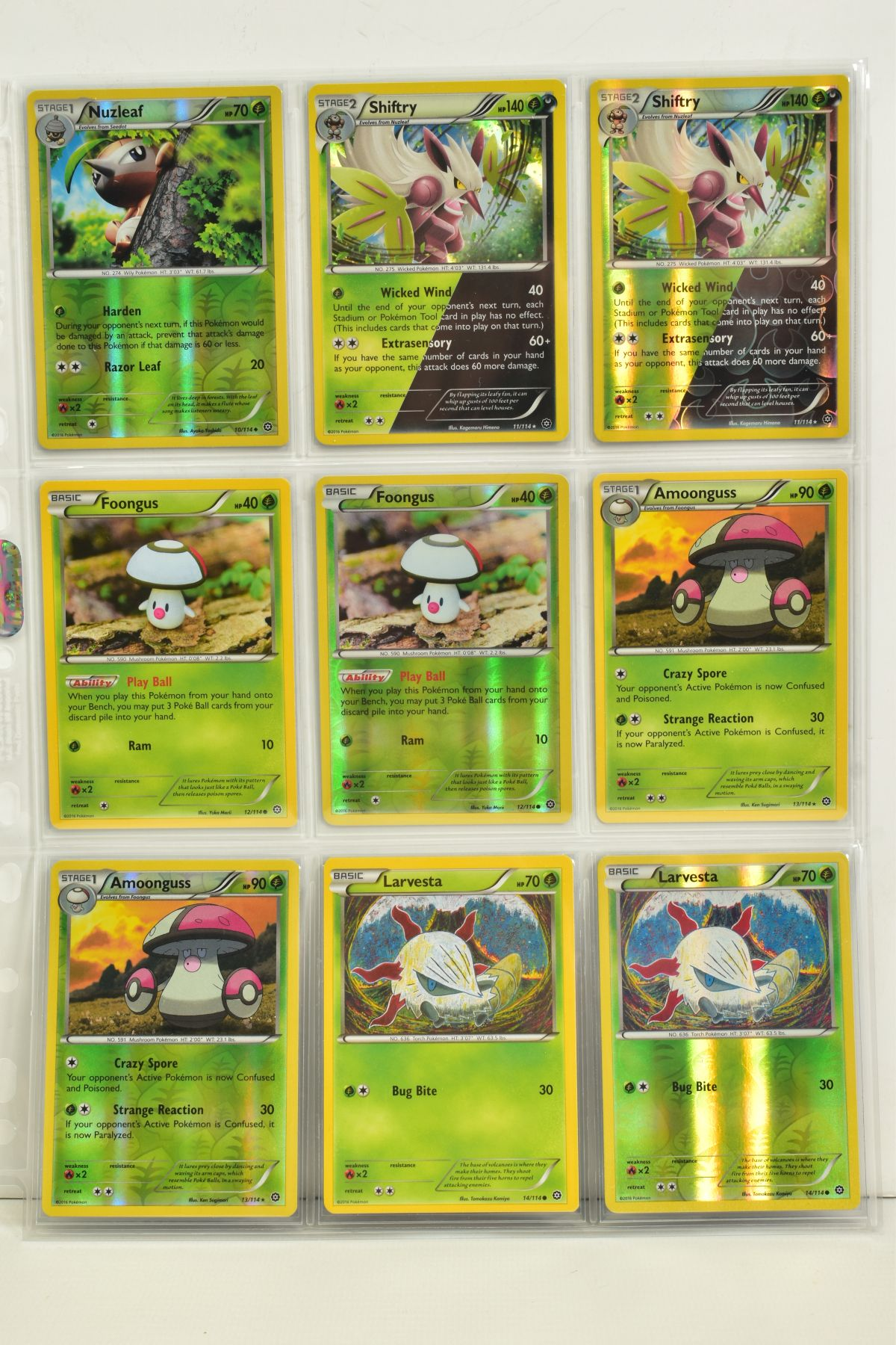 A COLLECTION OF ASSORTED POKEMON CARDS, to include complete master sets of XY Steam Siege, XY - Image 64 of 87