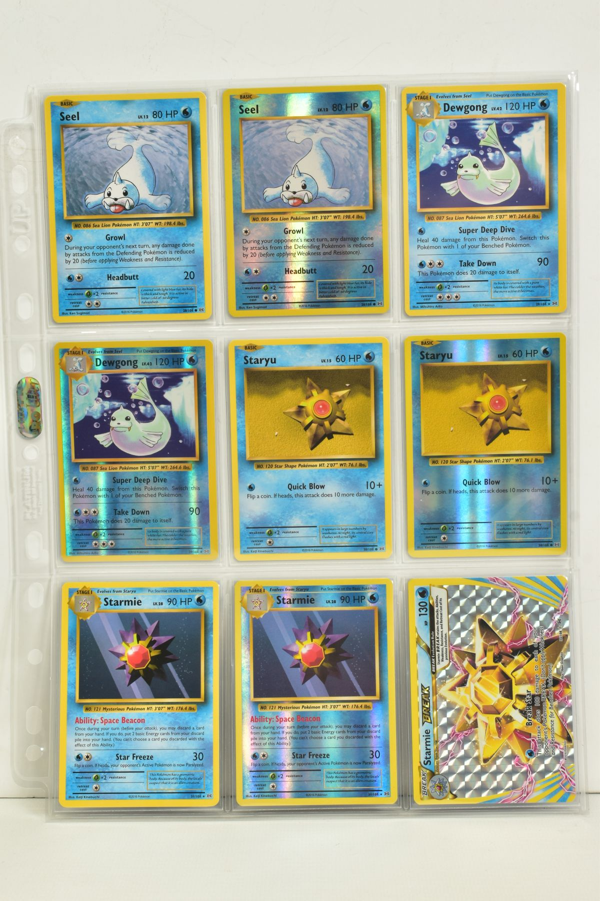 A COLLECTION OF ASSORTED POKEMON CARDS, to include complete master sets of XY Breakpoint, XY Roaring - Image 92 of 108