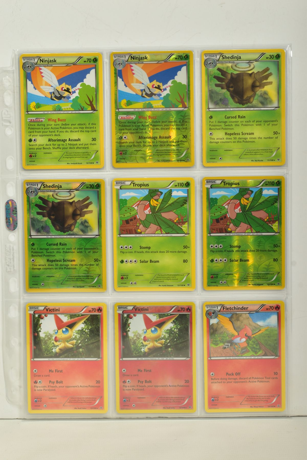 A COLLECTION OF ASSORTED POKEMON CARDS, to include complete master sets of XY Breakpoint, XY Roaring - Image 67 of 108