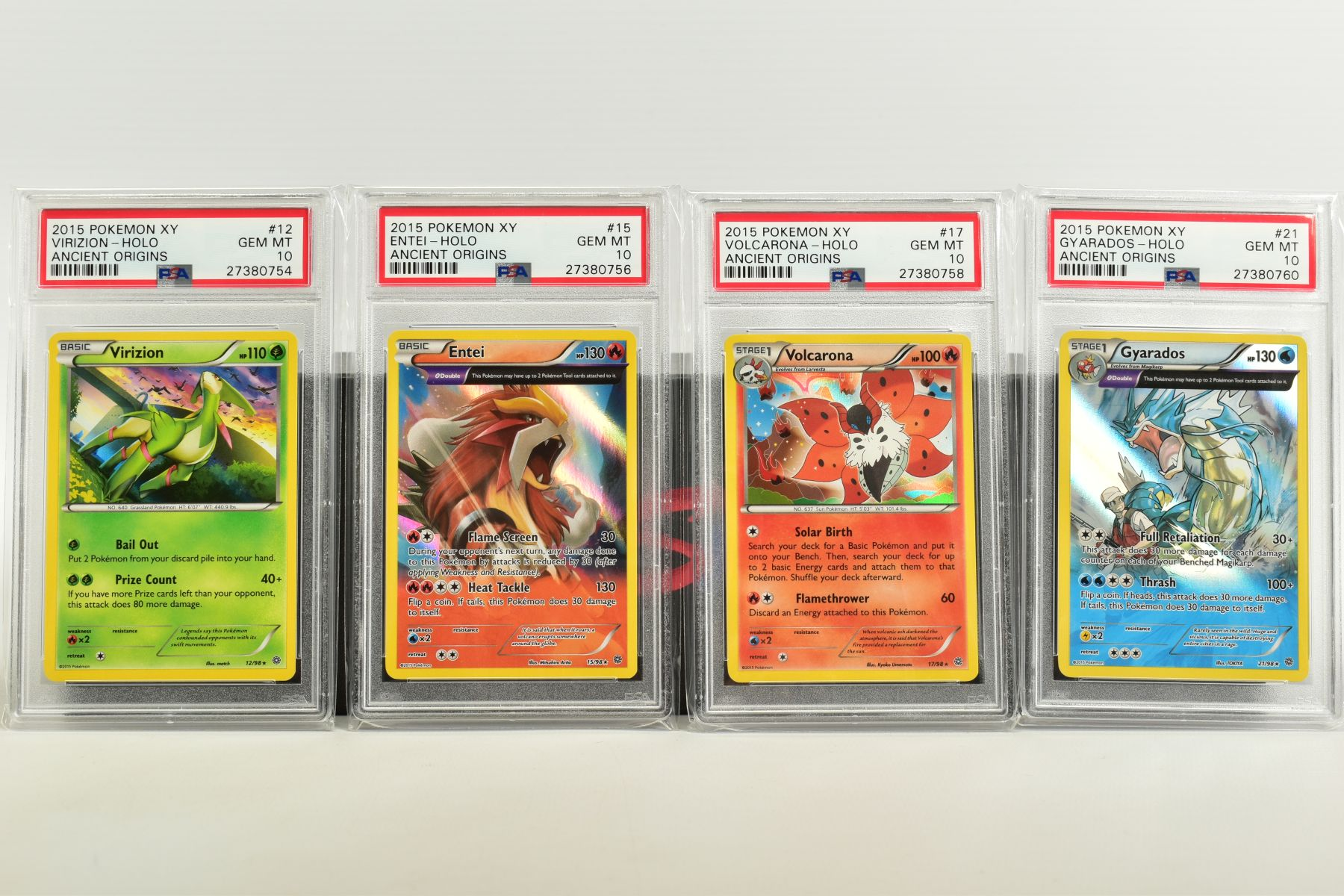 A QUANTITY OF PSA GRADED POKEMON XY CARDS, assorted cards from the XY Ancient Origins, XY Phantom - Image 2 of 6